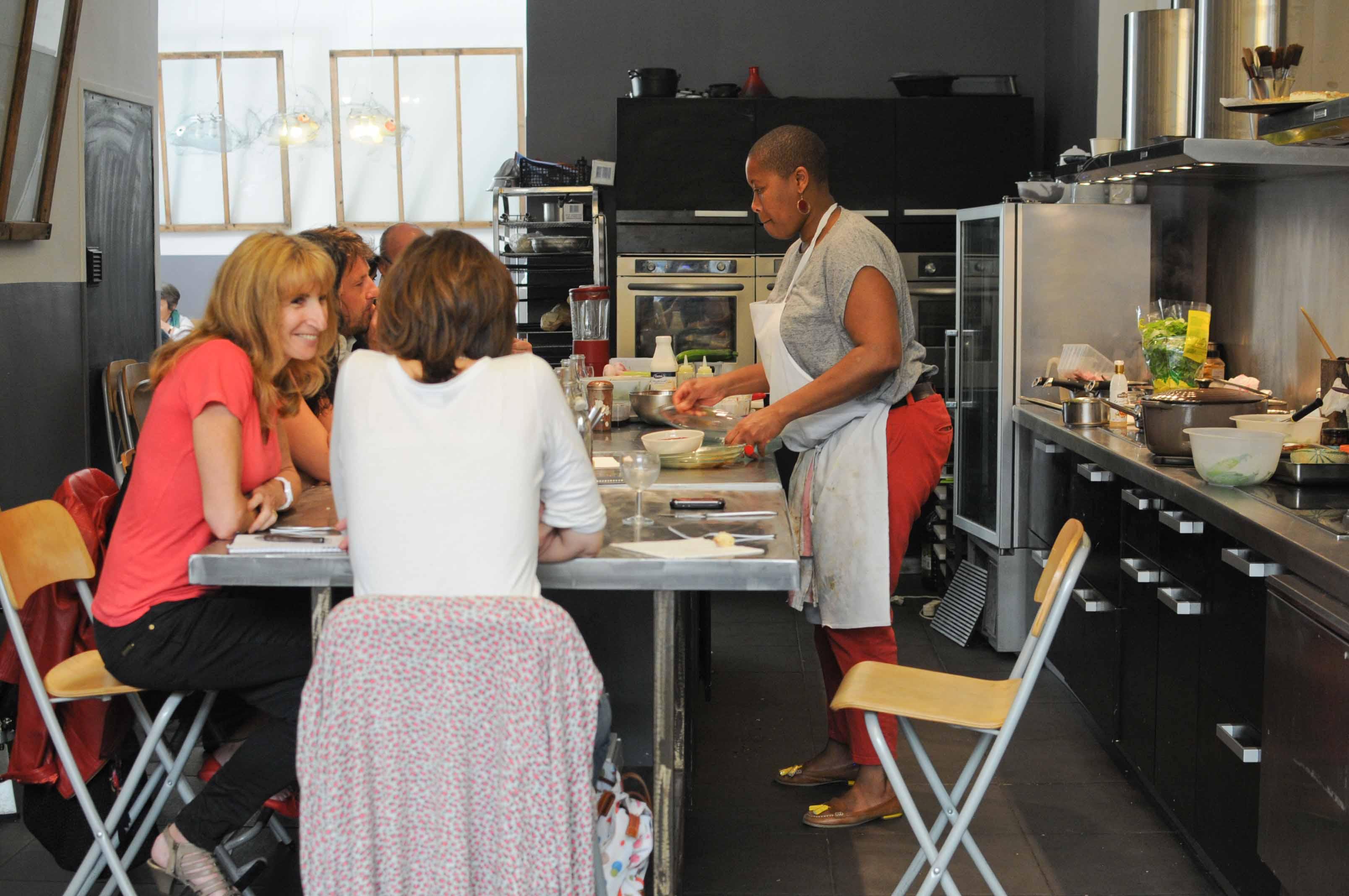 Déjeuner à l'Atelier de Georgiana à Marseille