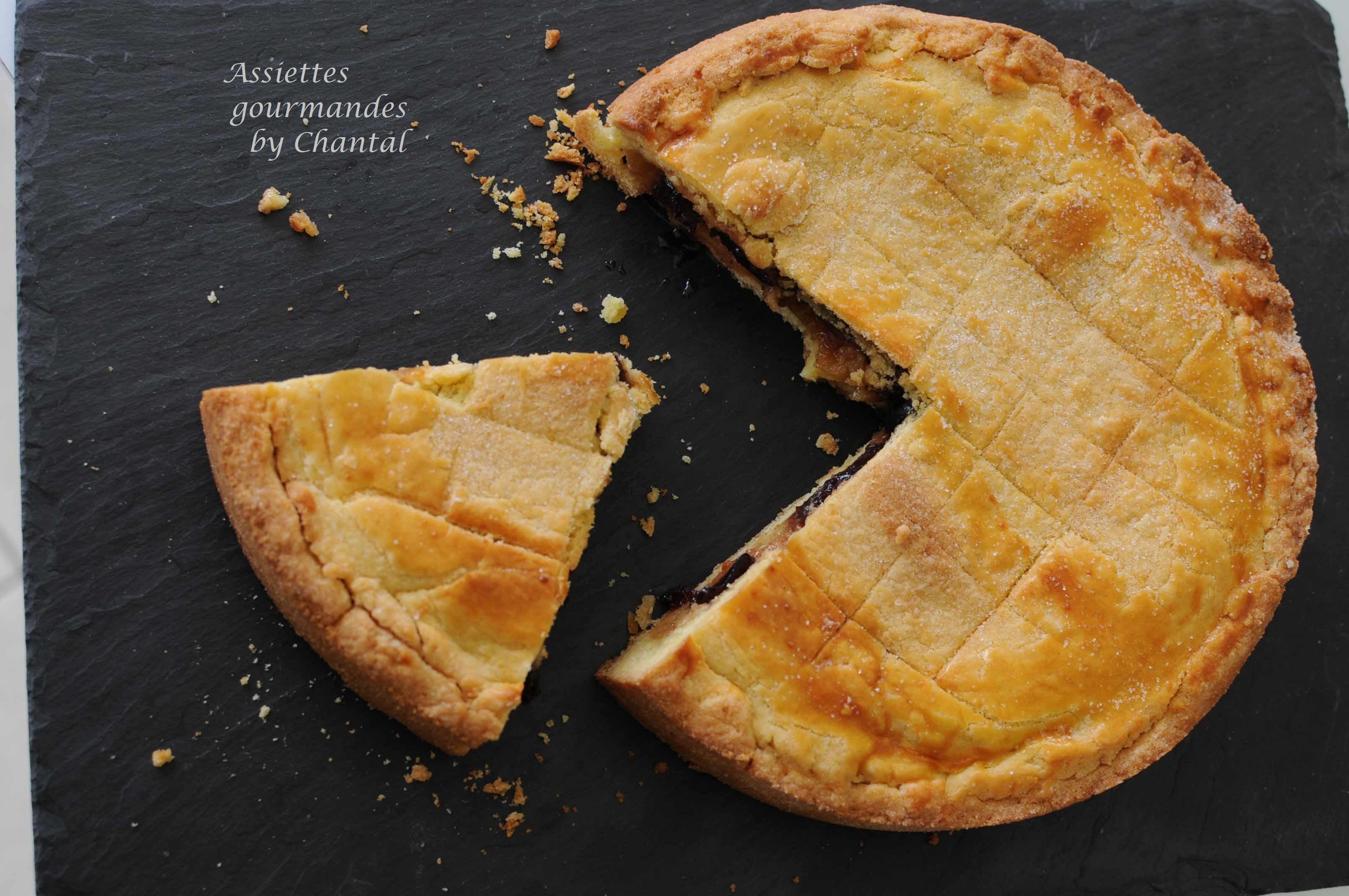 Gâteau basque Pie - Recette de Philippe Conticini