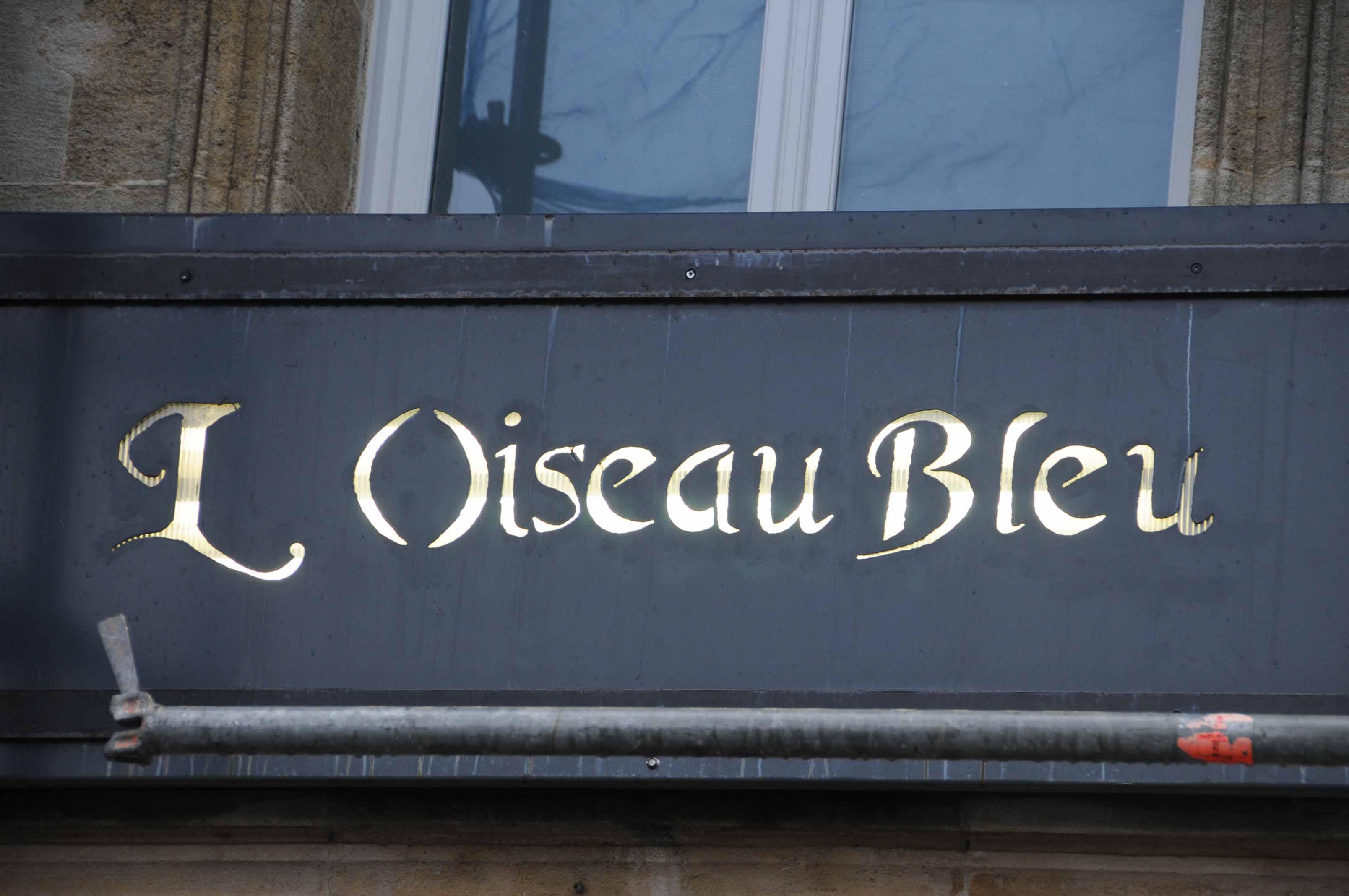 Dîner au restaurant l\'Oiseau Bleu à Bordeaux... avec l\'ami Pierrot! -