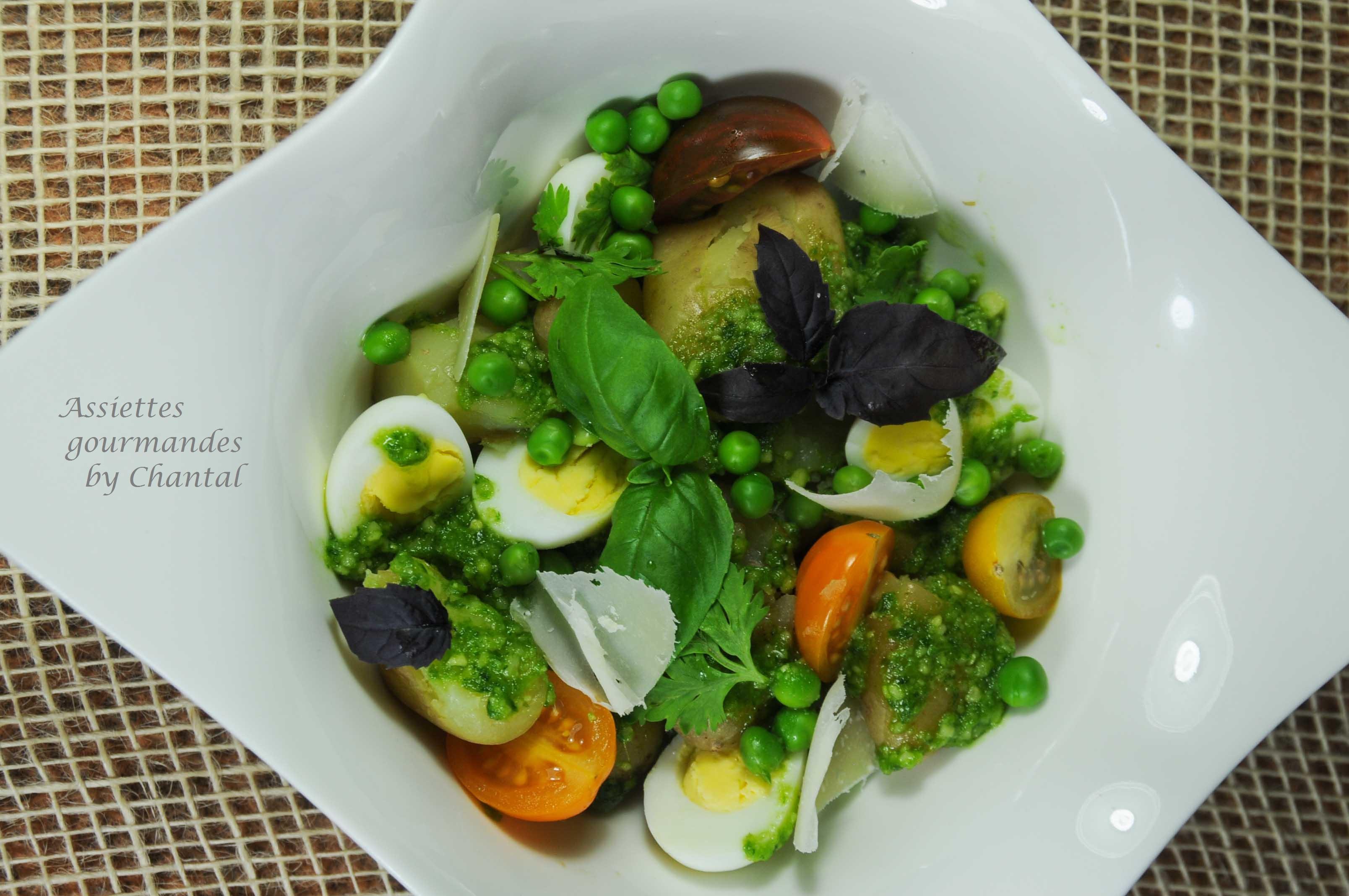 Salade de pommes de terre.... à l'anglaise!