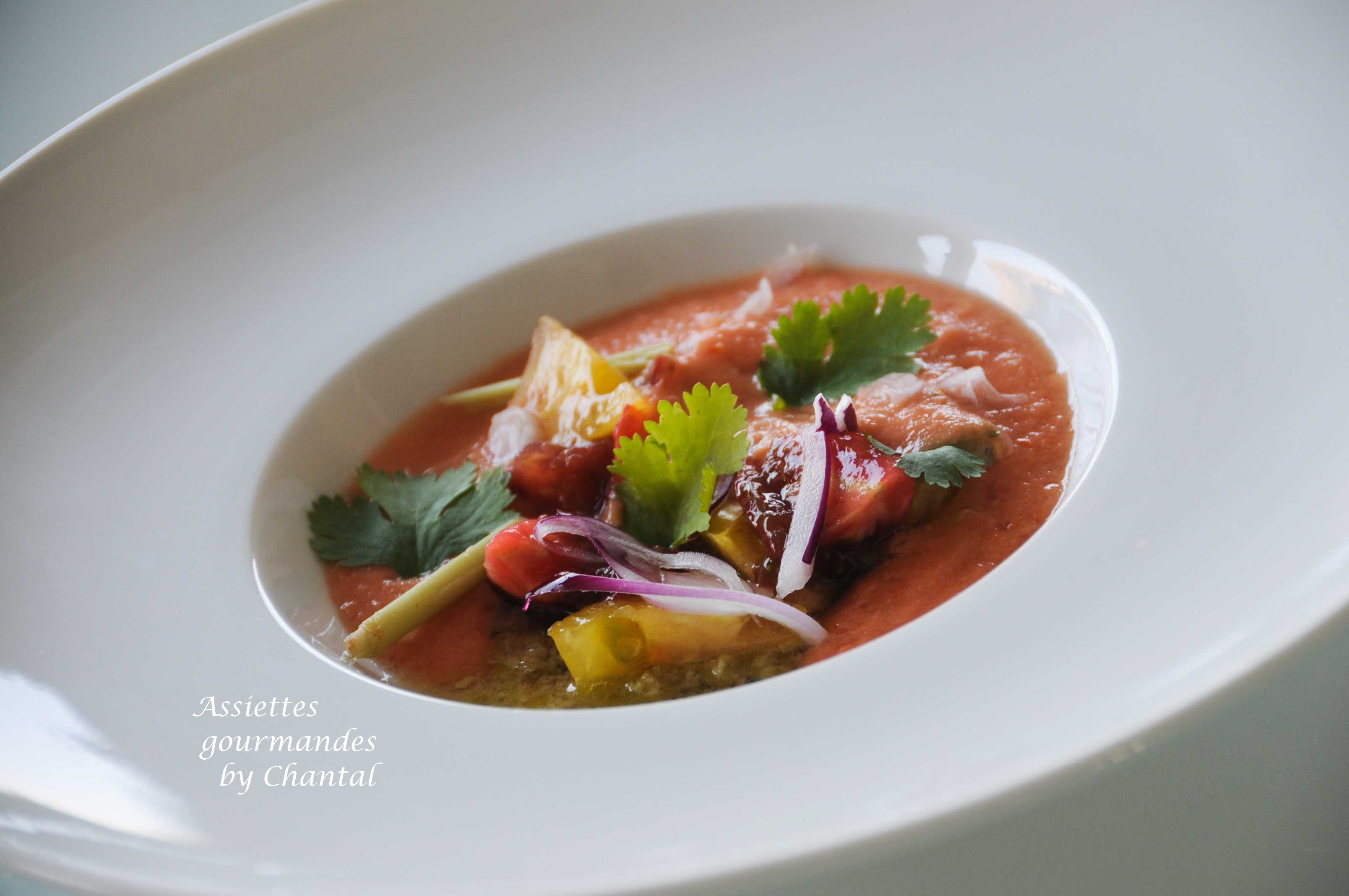 Gaspacho - Recette de William Ledeuil