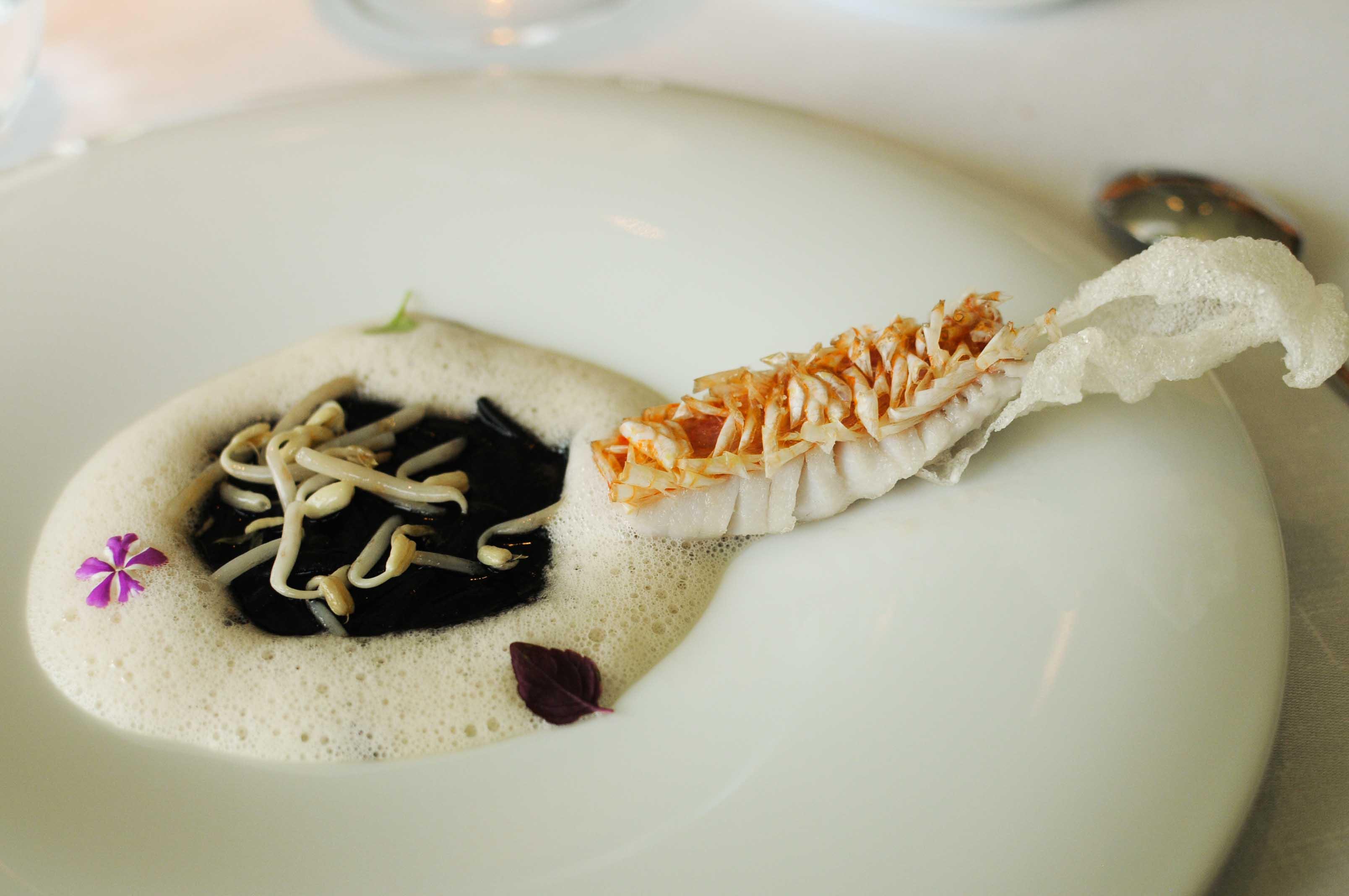 Déjeuner chez Martin Berasategui, à Lasarte, Espagne