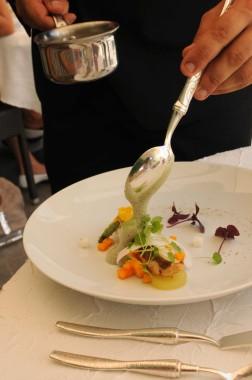 Restaurant Passions et Gourmandises, Saint-Benoit, Poitiers (31) - Saint Pierre curry coco mangue