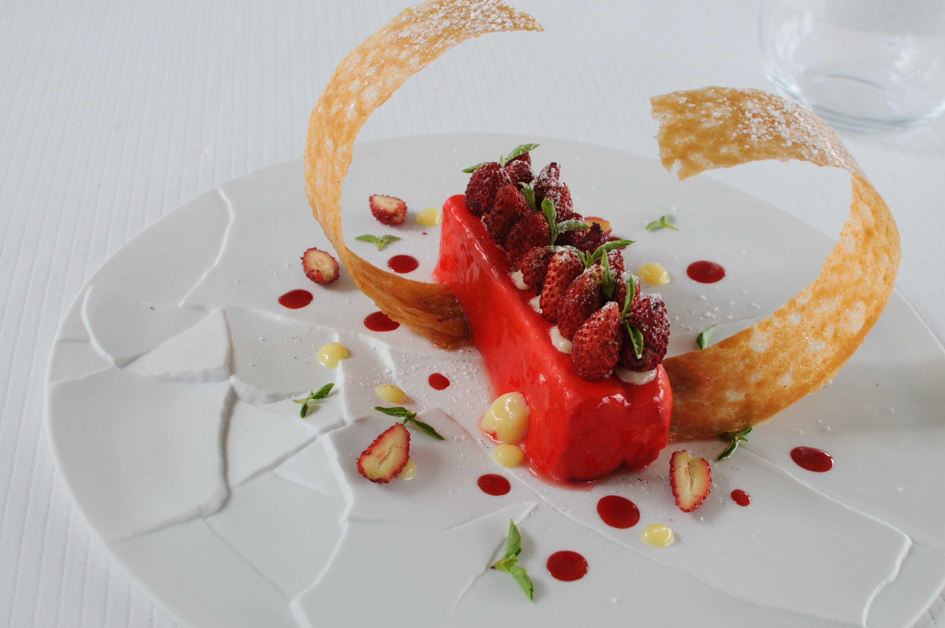 Déjeuner à l'Aquarelle, chez Xavier Taffart, près de Royan