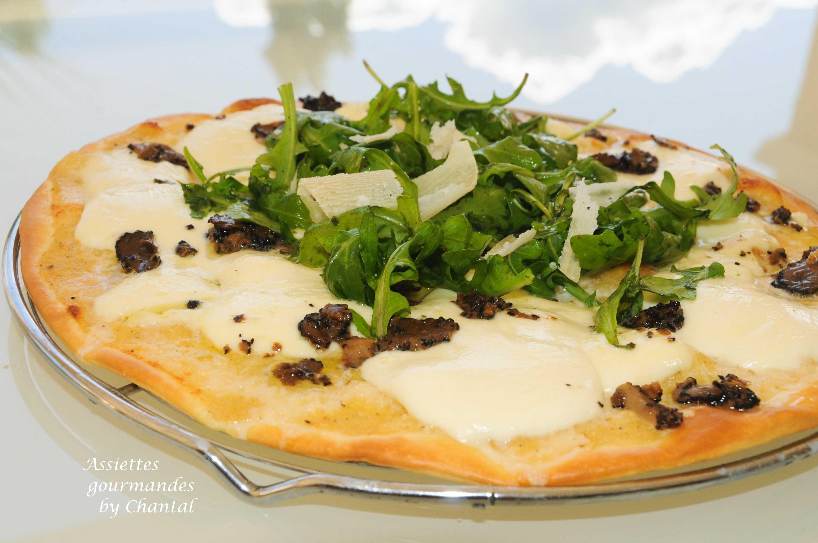Pizza Mozzarella truffes