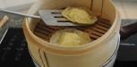 cuisson des ravioles a la vapeur