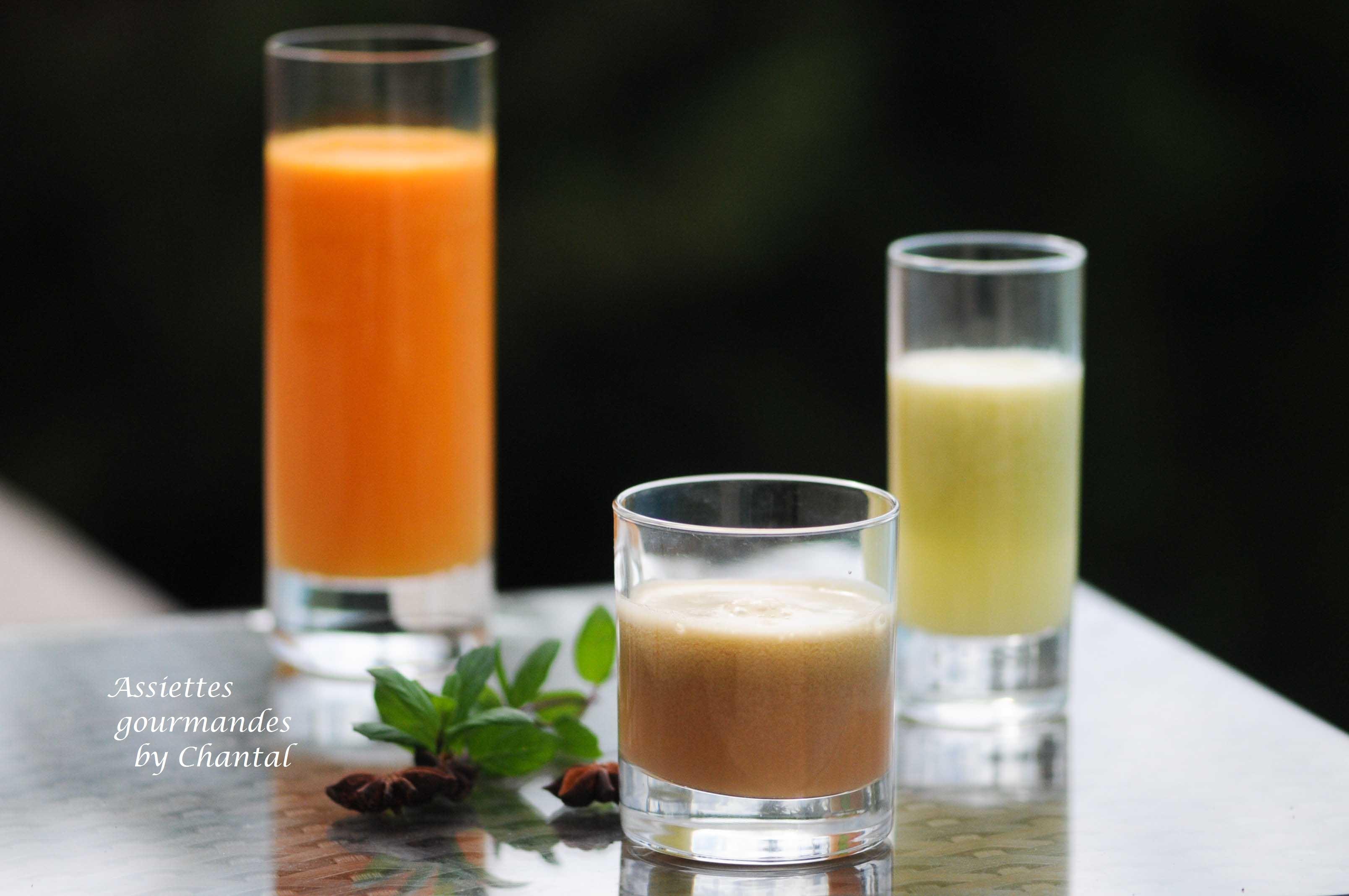 Jus de fruits et légumes - Cocktails vitaminés