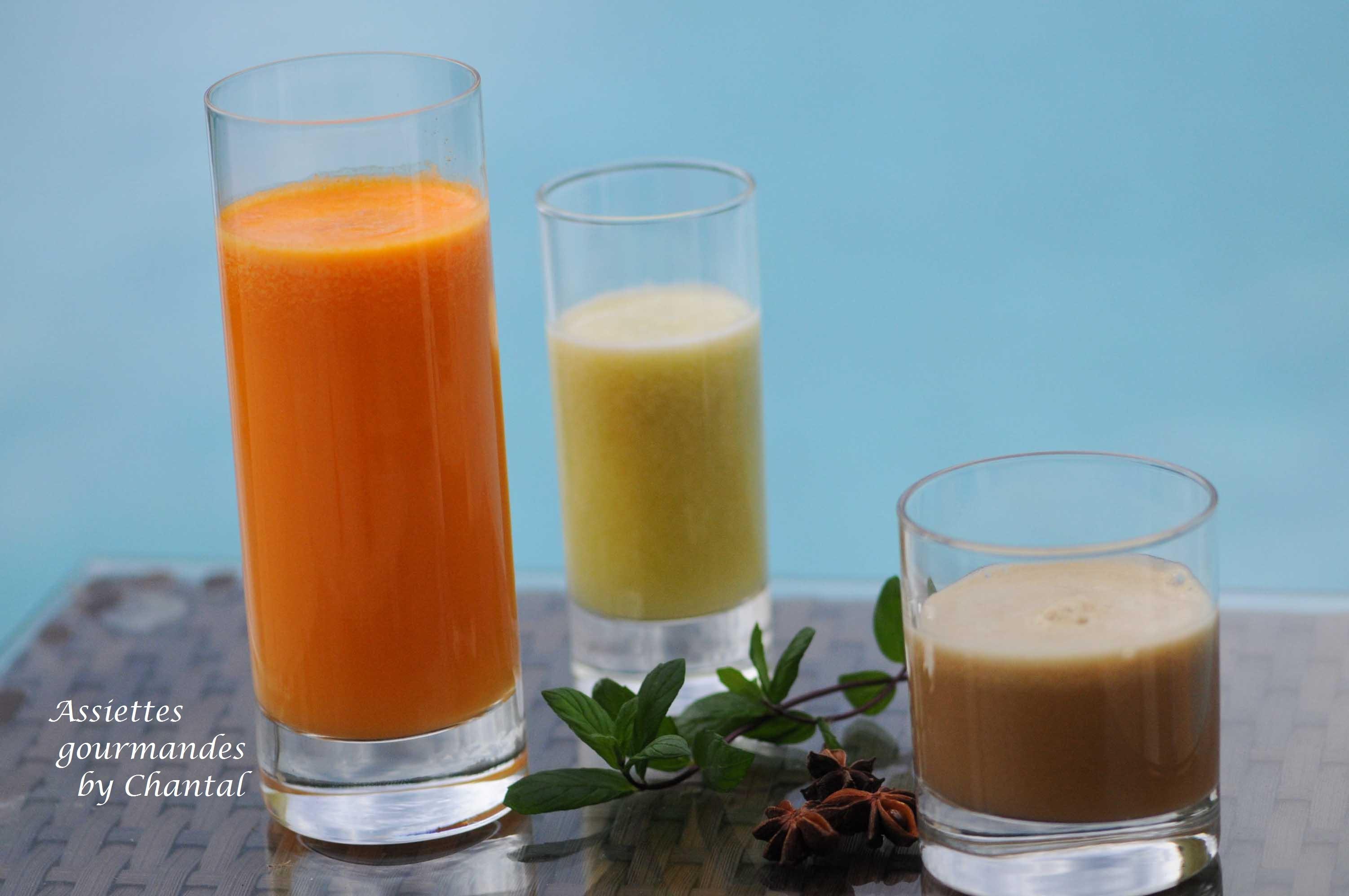 Jus De Fruits Et Legumes Cocktails Vitamines