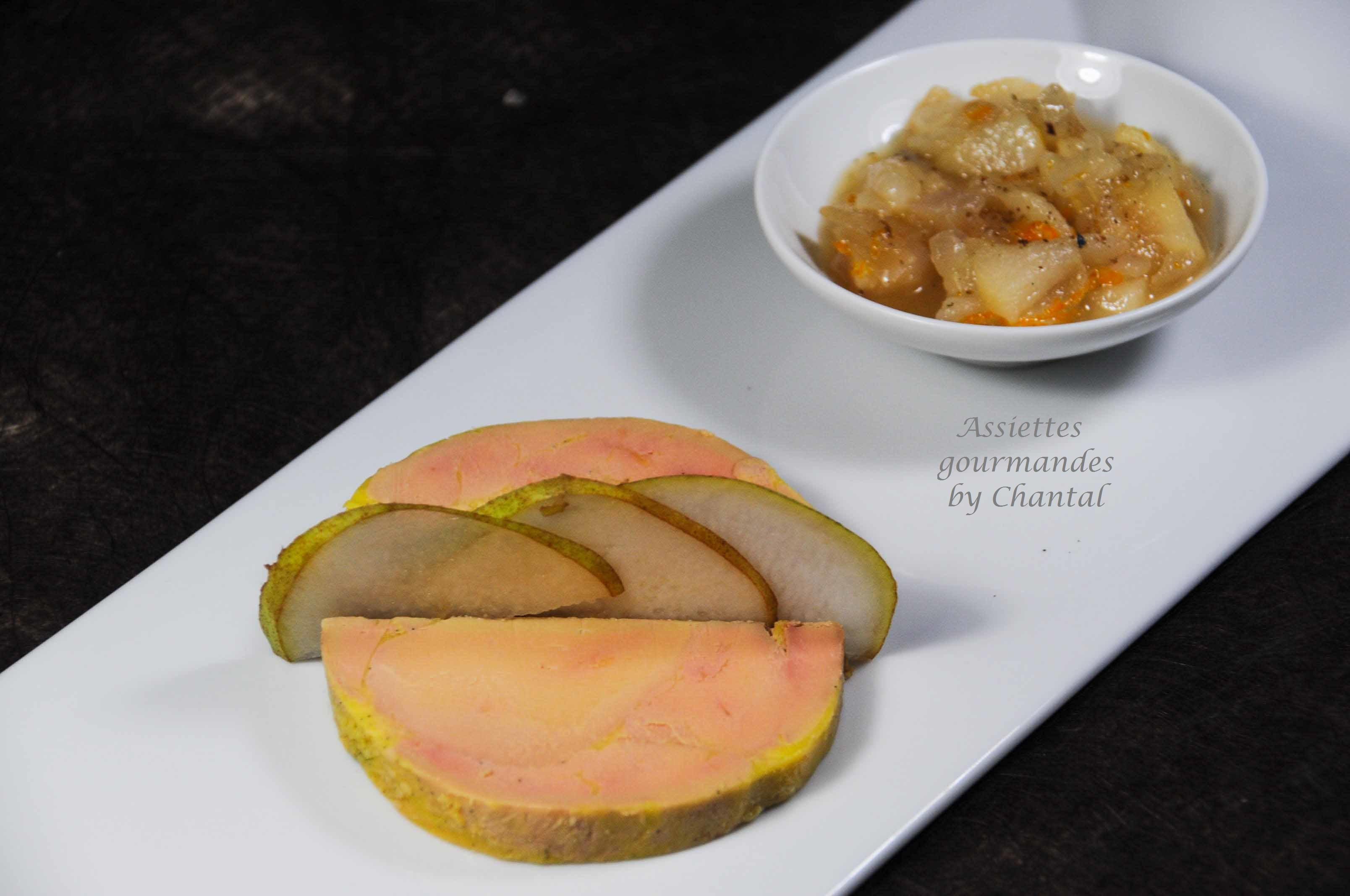 Foie gras sous vide basse température