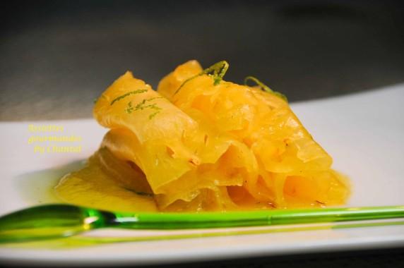 carpaccio ananas 1