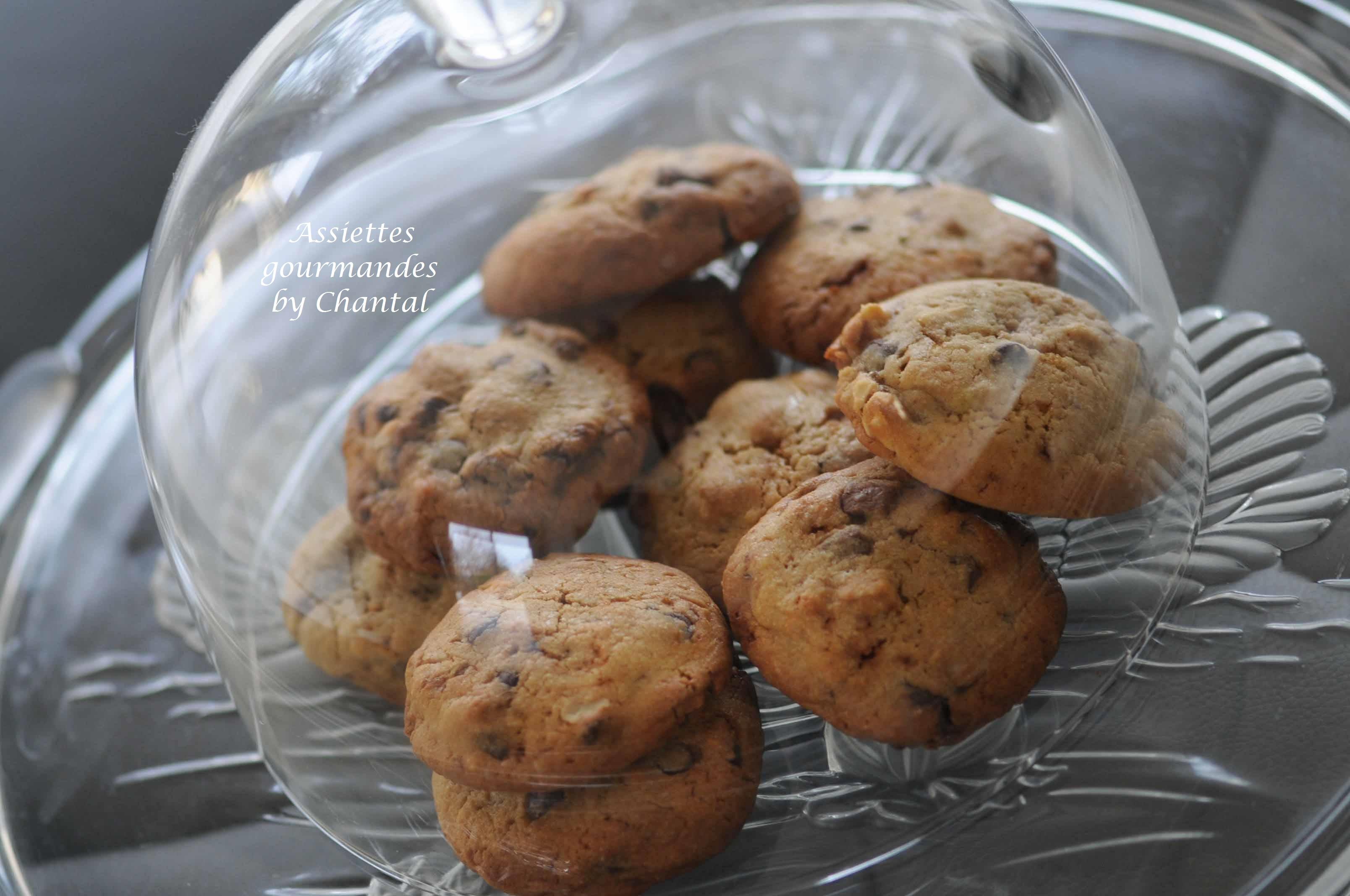 Cookies chocolat cacahuètes - Recette de Philippe Conticini