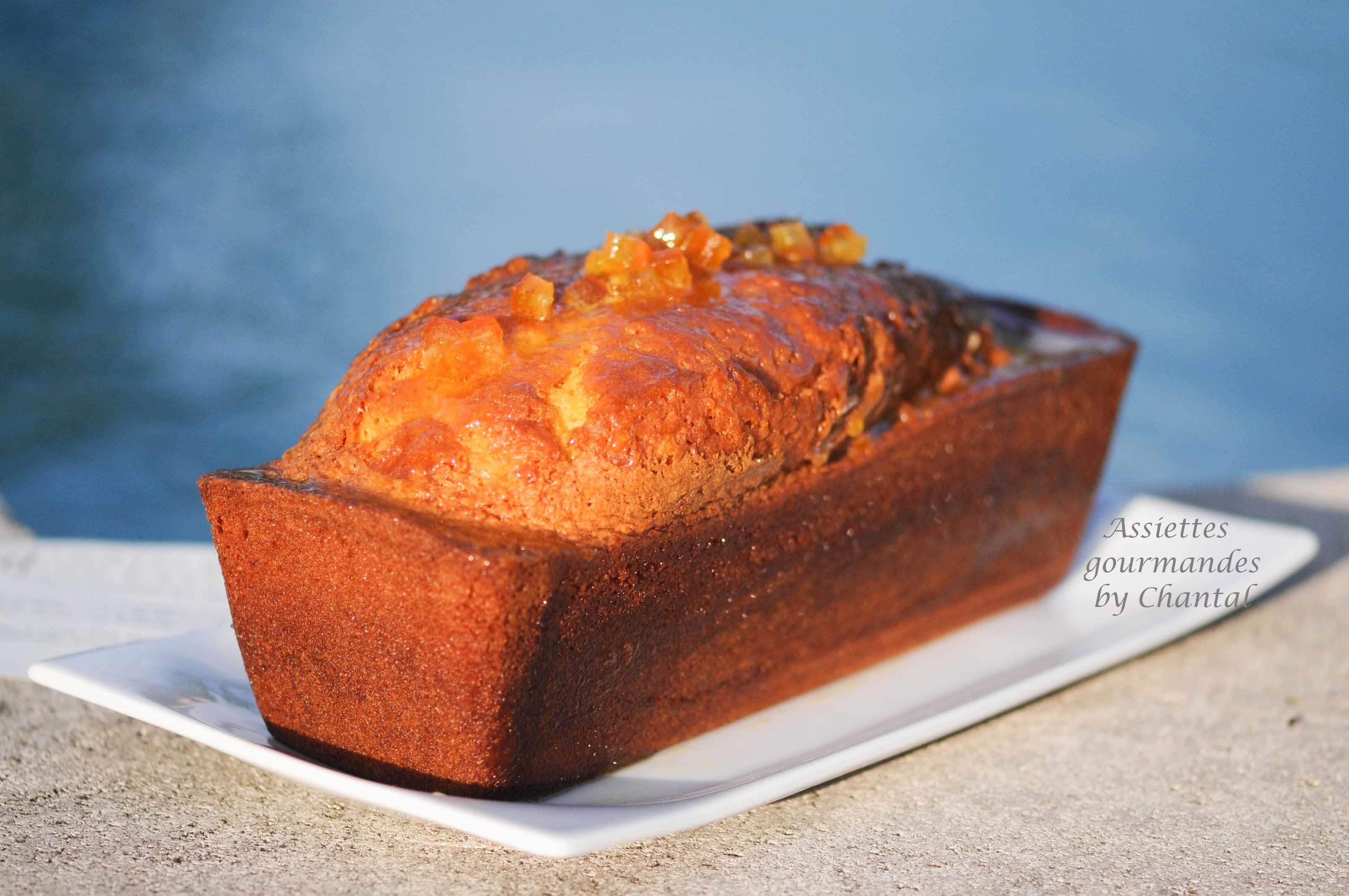Cake au citron - Recette de l'Hôtel du Castellet