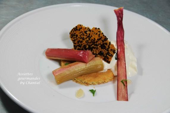 rhubarbe confite 2