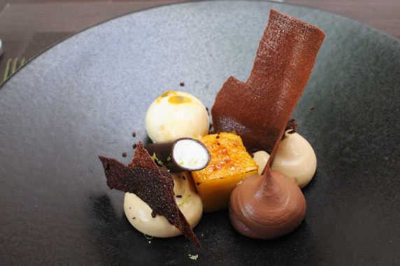 dessert chocolat dulcey