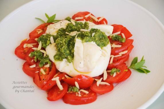 salade tomates burrata 1