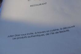 restaurant Julien Diaz