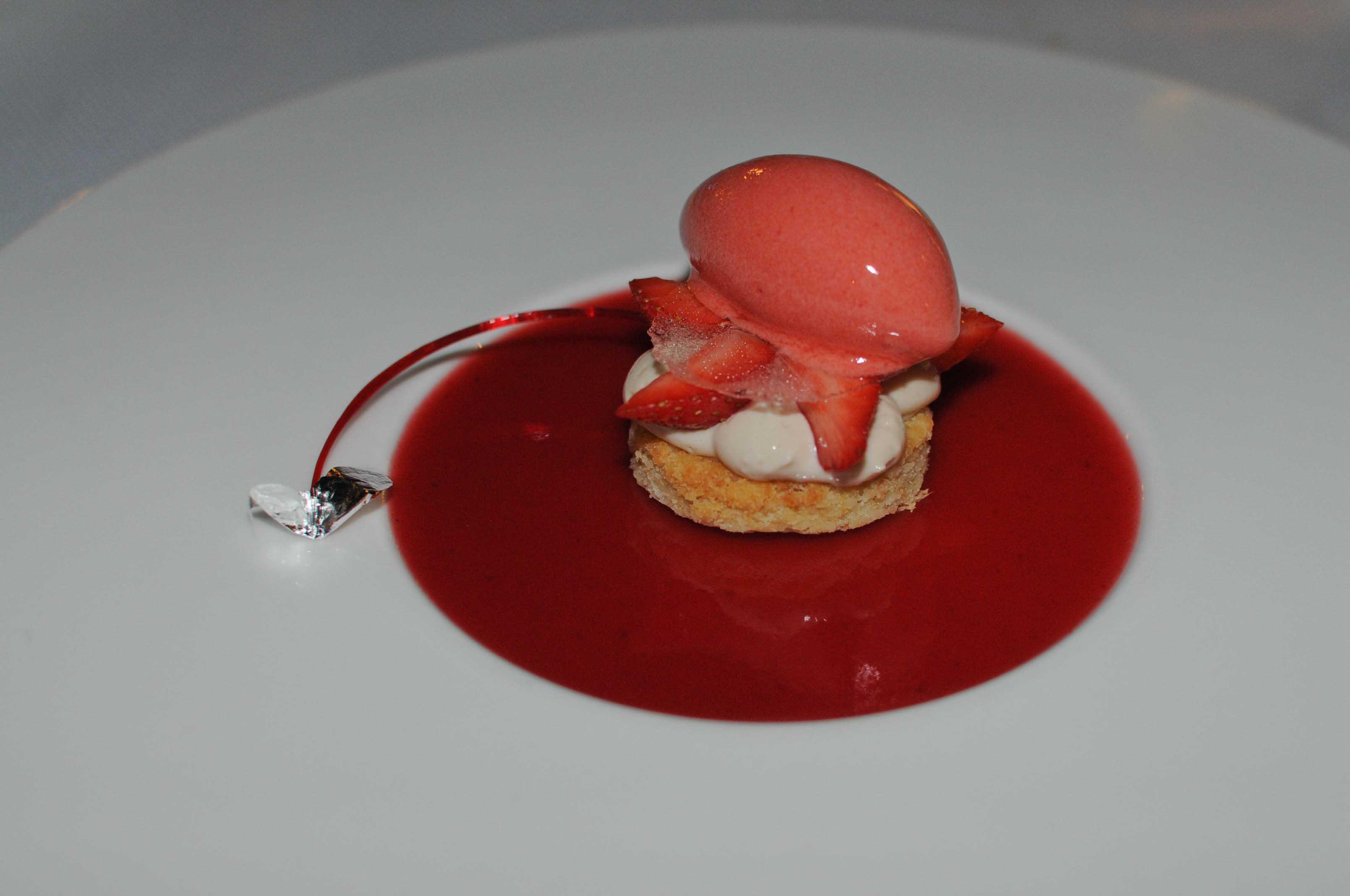 """Dîner au restaurant """"Chez Charles"""" à Lumio (Corse), chez Julien Diaz, 1 étoile Michelin"""