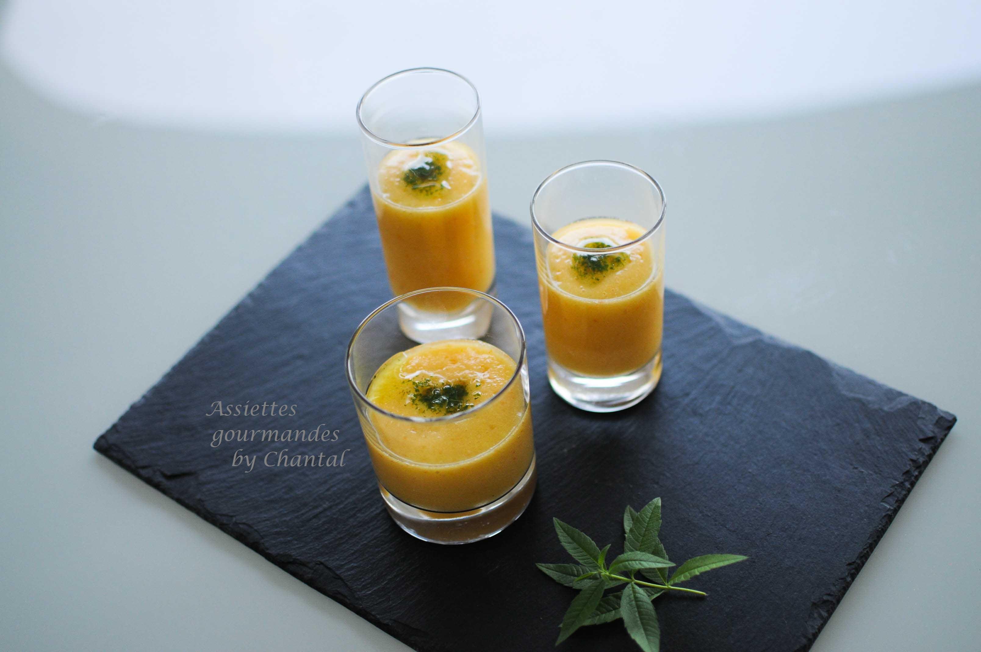 Gaspacho tomates ananas