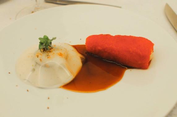 Risotto soja huîtres et cèpes