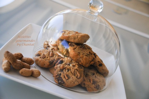 cookies cacahuète