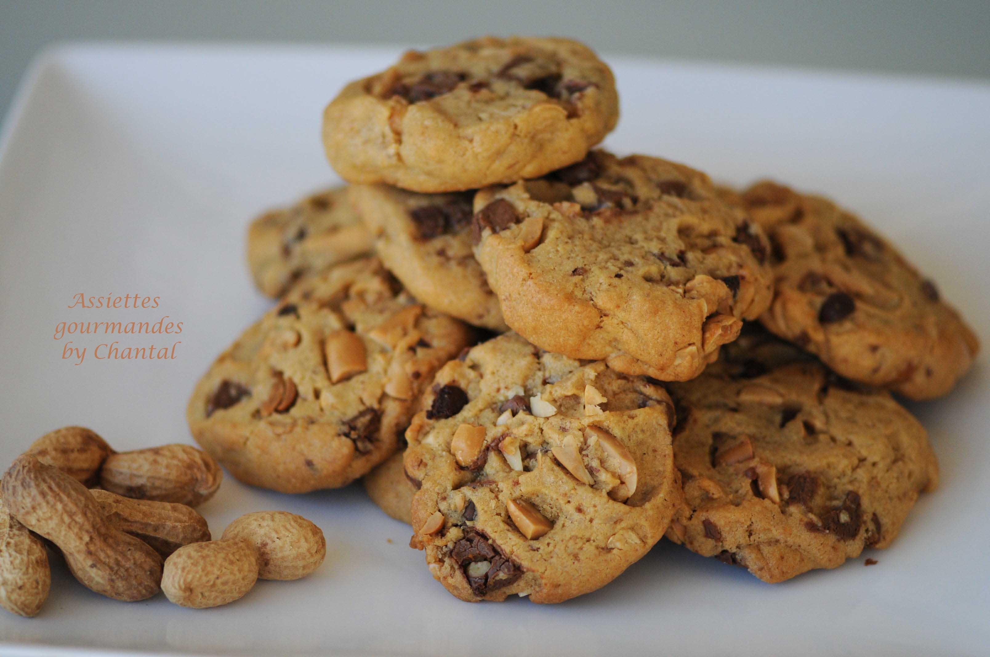 Cookies cacahuètes chocolat - Recette d'Eric Kayser