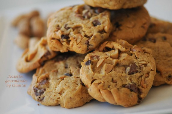 cookies cacahuète 4
