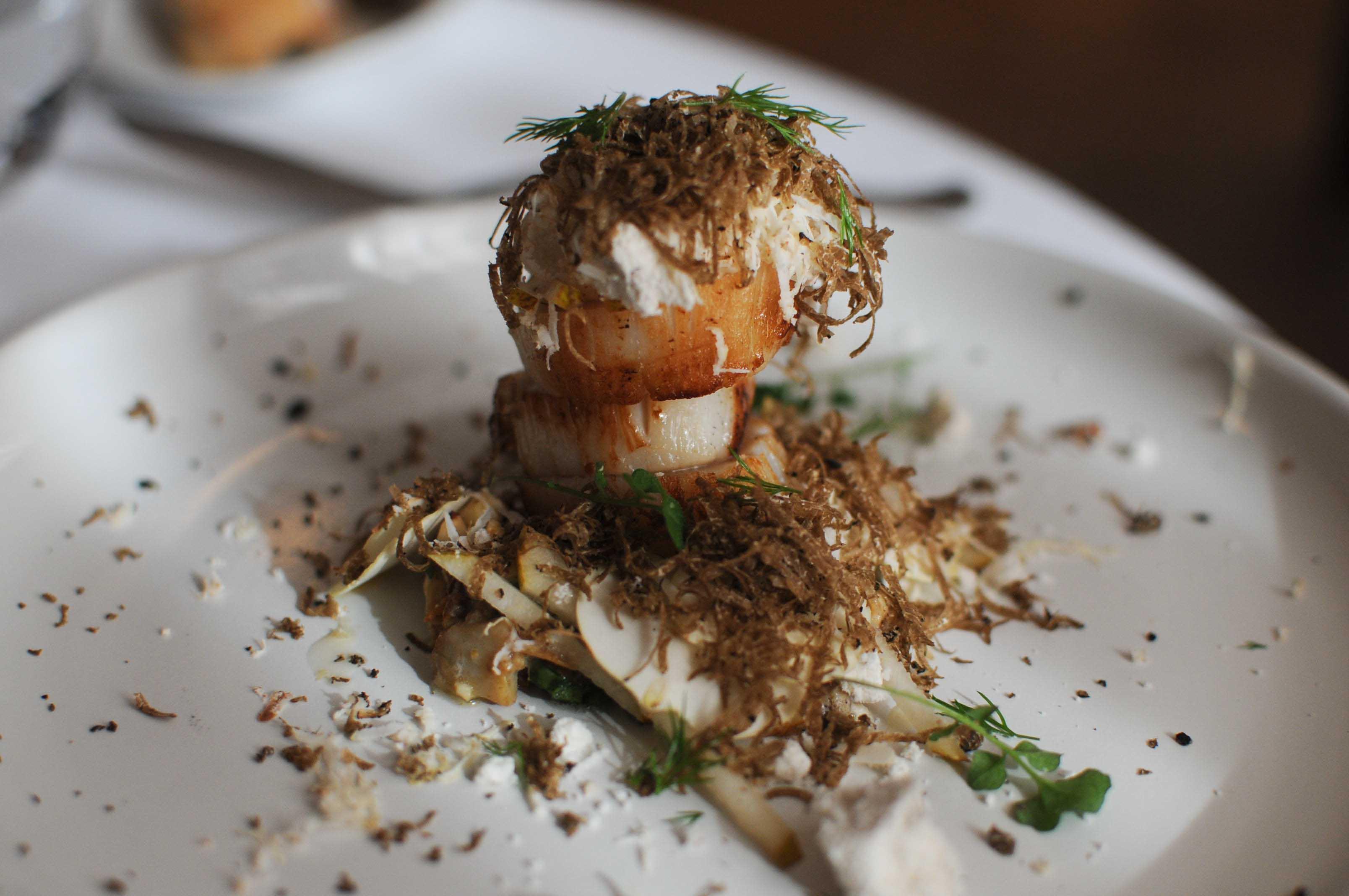 Déjeuner au restaurant Le Pré - Xavier Beaudiment (2 étoiles Michelin) - Clermont-Ferrand