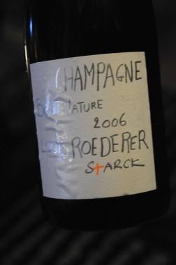 champagne Roederer Starck