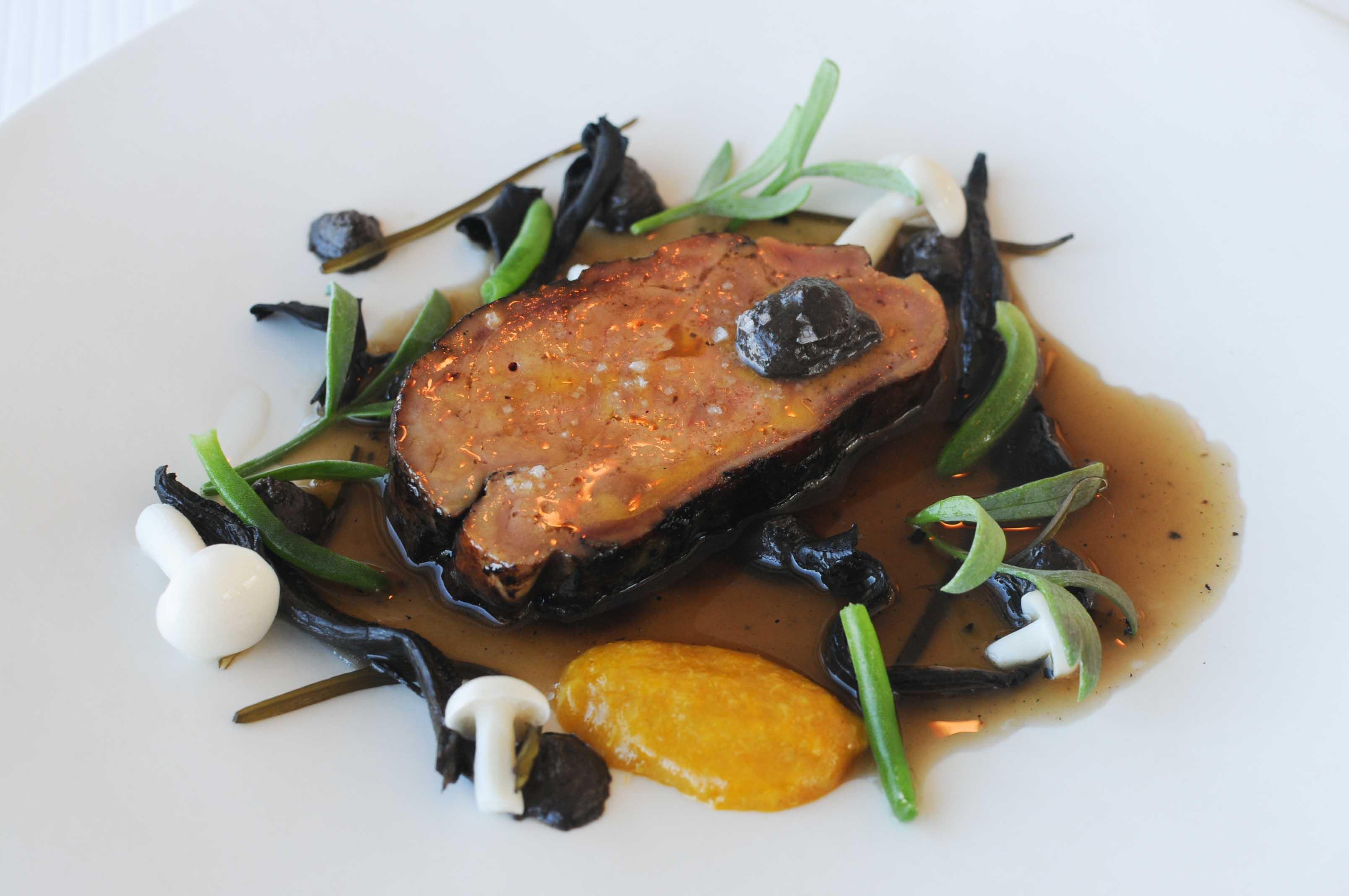 Déjeuner au restaurant l'Aquarelle, à Breuillet