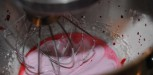 meringue aux framboises