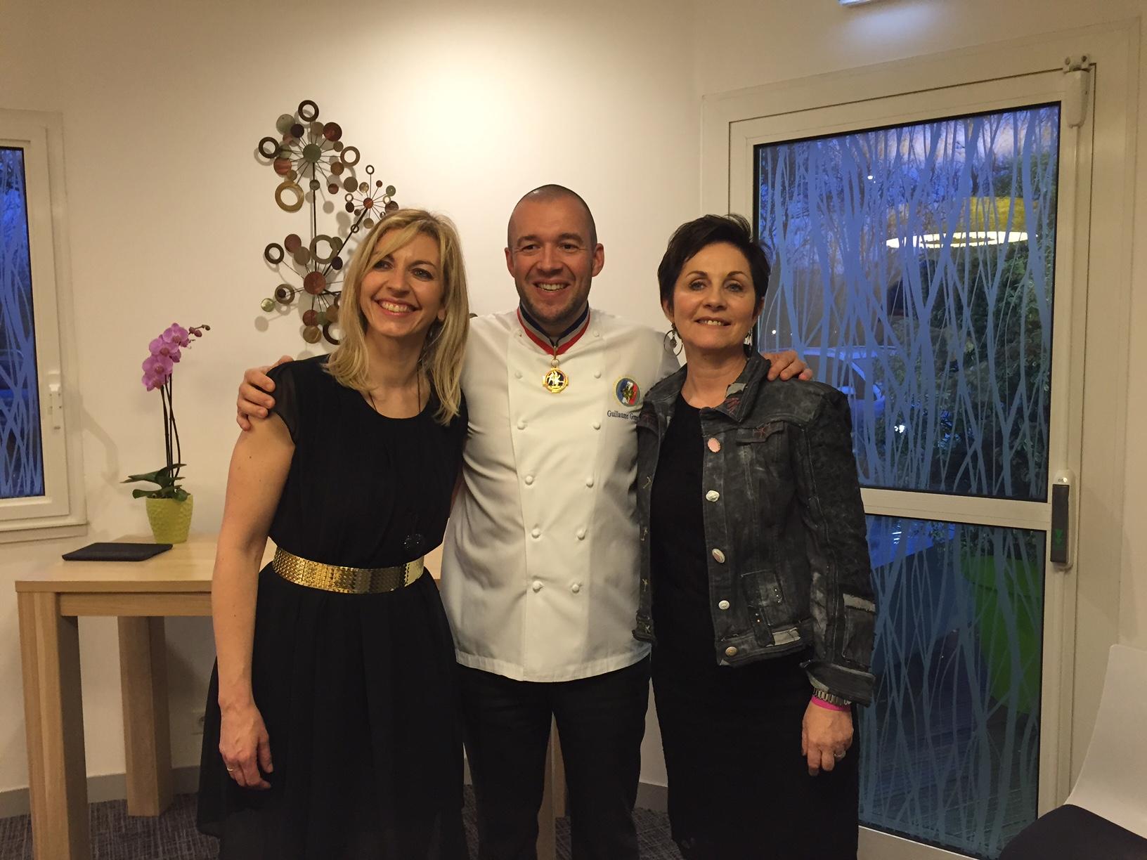 L'Adress à Niort: un dîner à 12 mains pour le trophée Rose des Sables