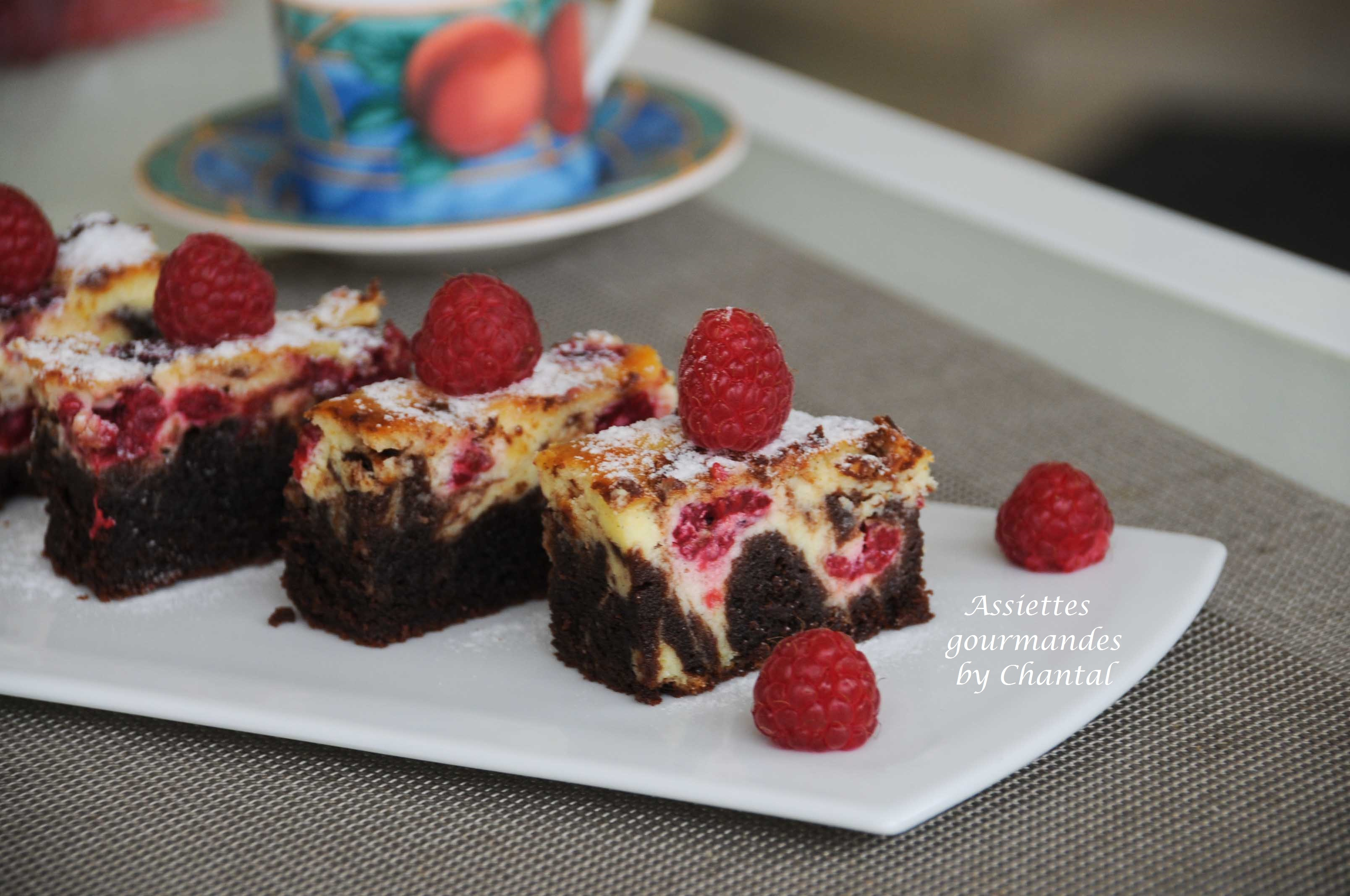 Brownie au Cheesecake [Recette de Trish Deseine]