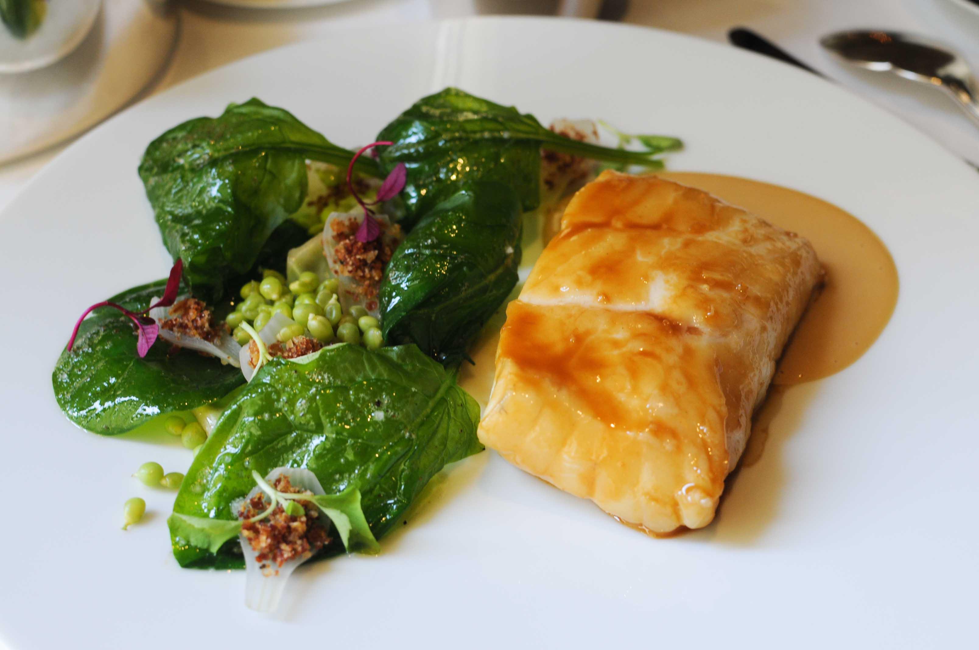 Déjeuner au Restaurant Le Gabriel à l'hôtel La Réserve, Paris
