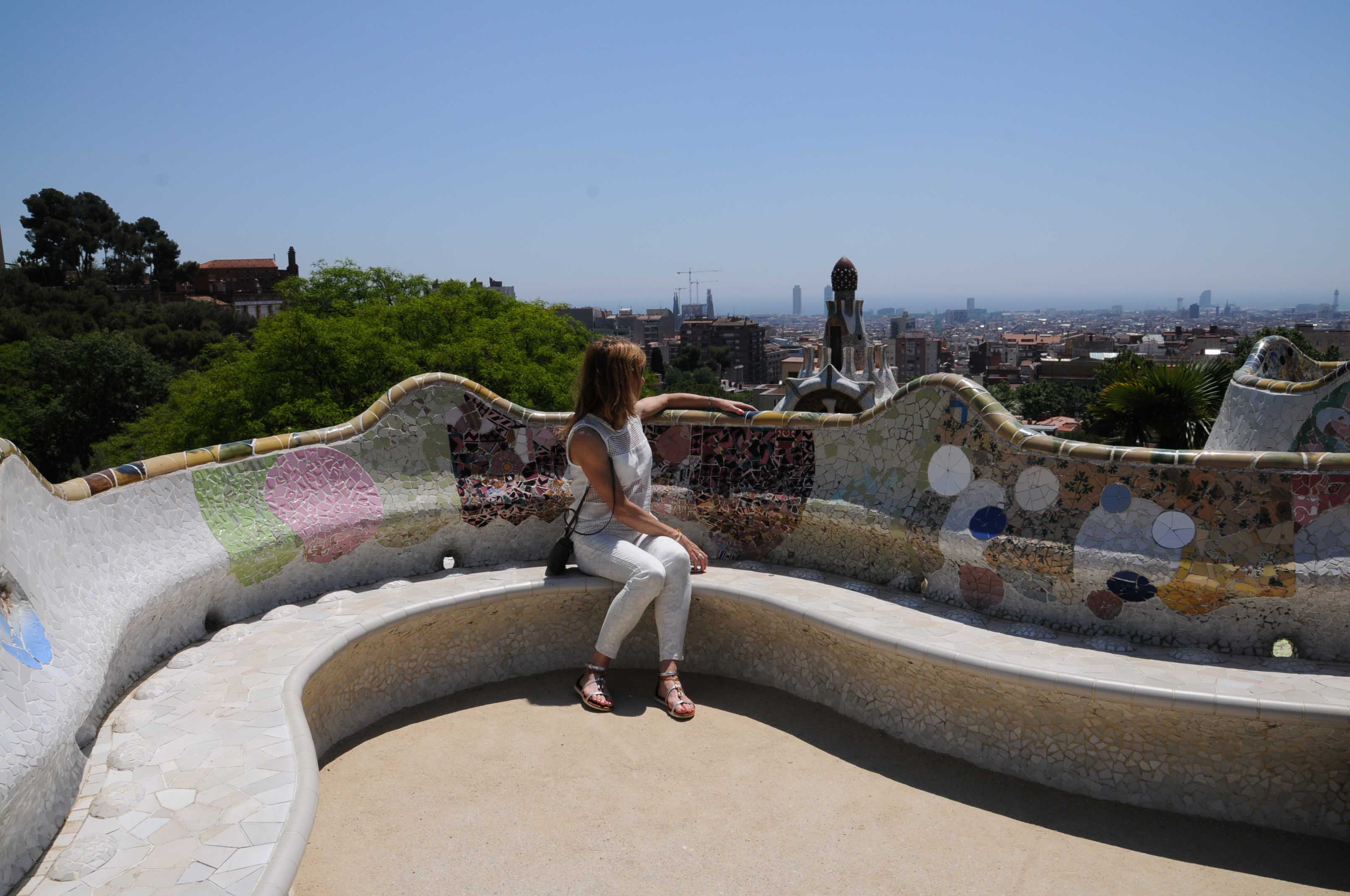 Park Güell à Barcelone