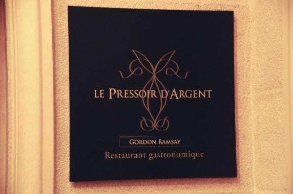 Le Pressoir d'Argent Gordon Ramsay (2)