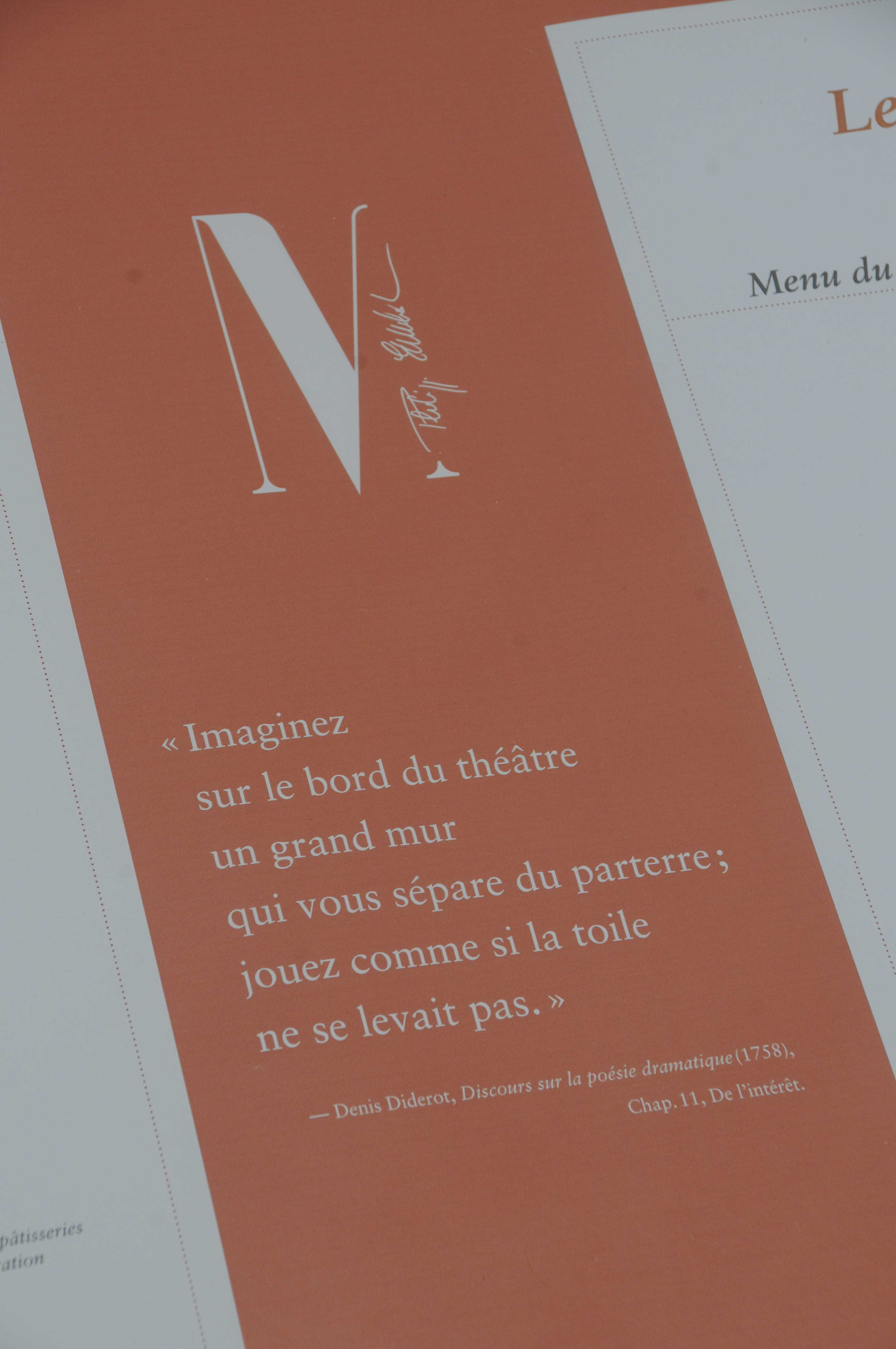 Restaurant Le Quatri Ef Bf Bdme Mur Menu Et Prix