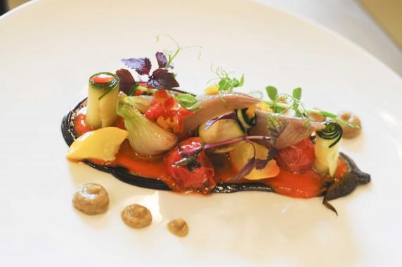Assiettes gourmandes d jeuner chez philippe etchebest le for La cuisine de philippe menu