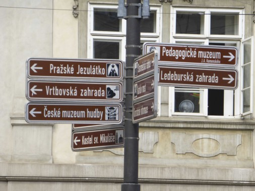 panneaux Prague