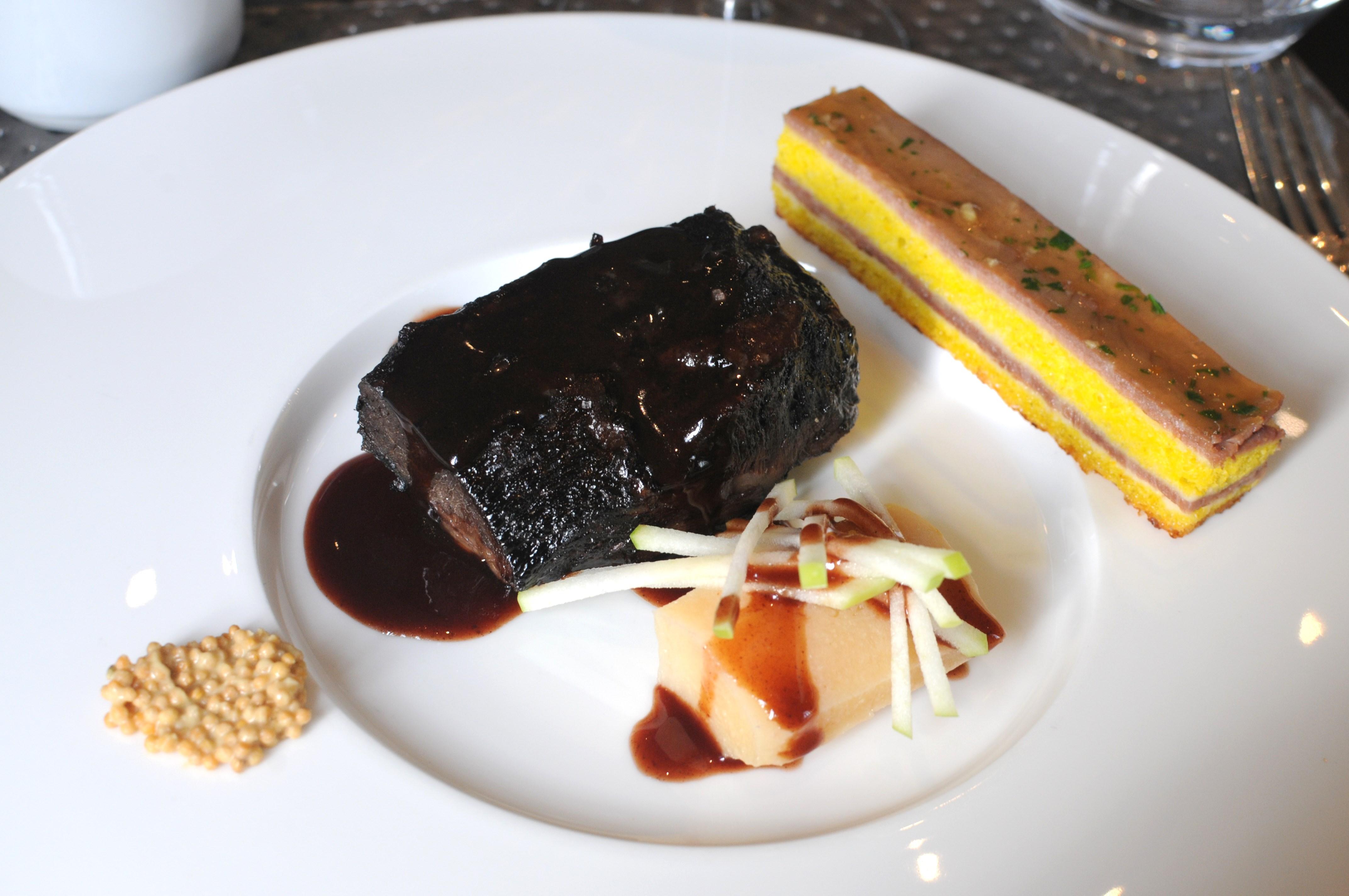 Déjeuner au restaurant La Réserve, Pavillon du Château de Raba, Talence