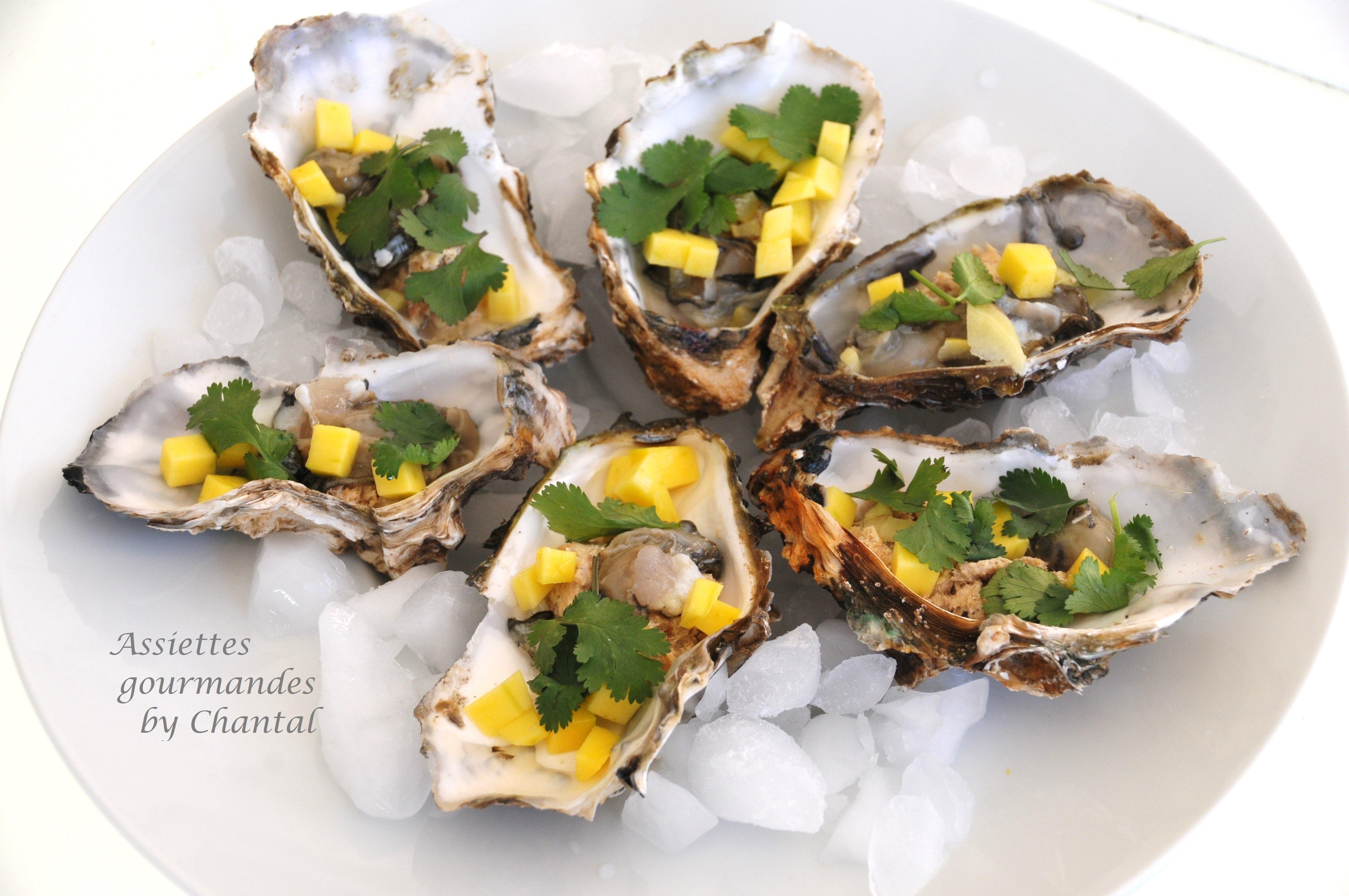 Une autre façon de manger les huîtres...