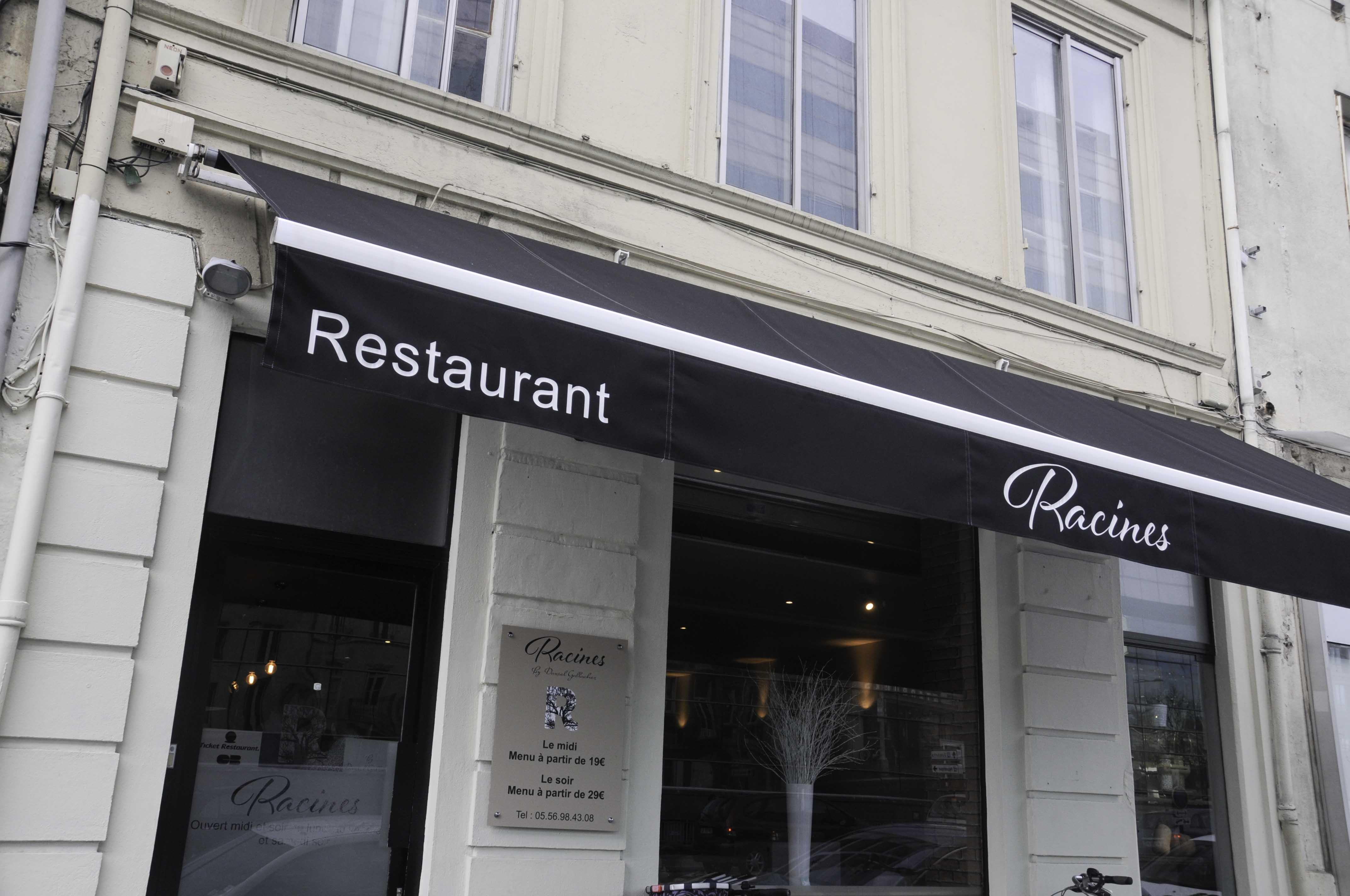 restaurant Racines Bordeaux