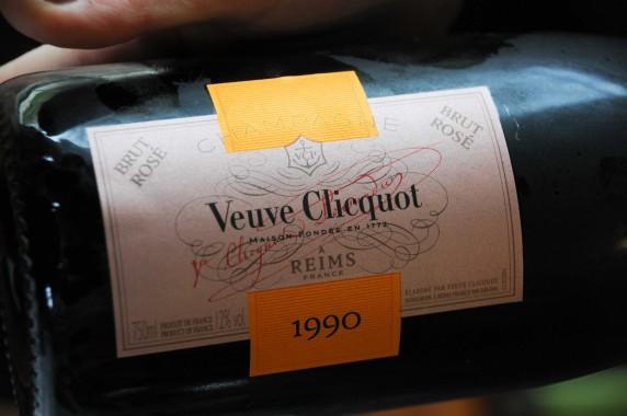 Champagne Veuve Cliquot 1990