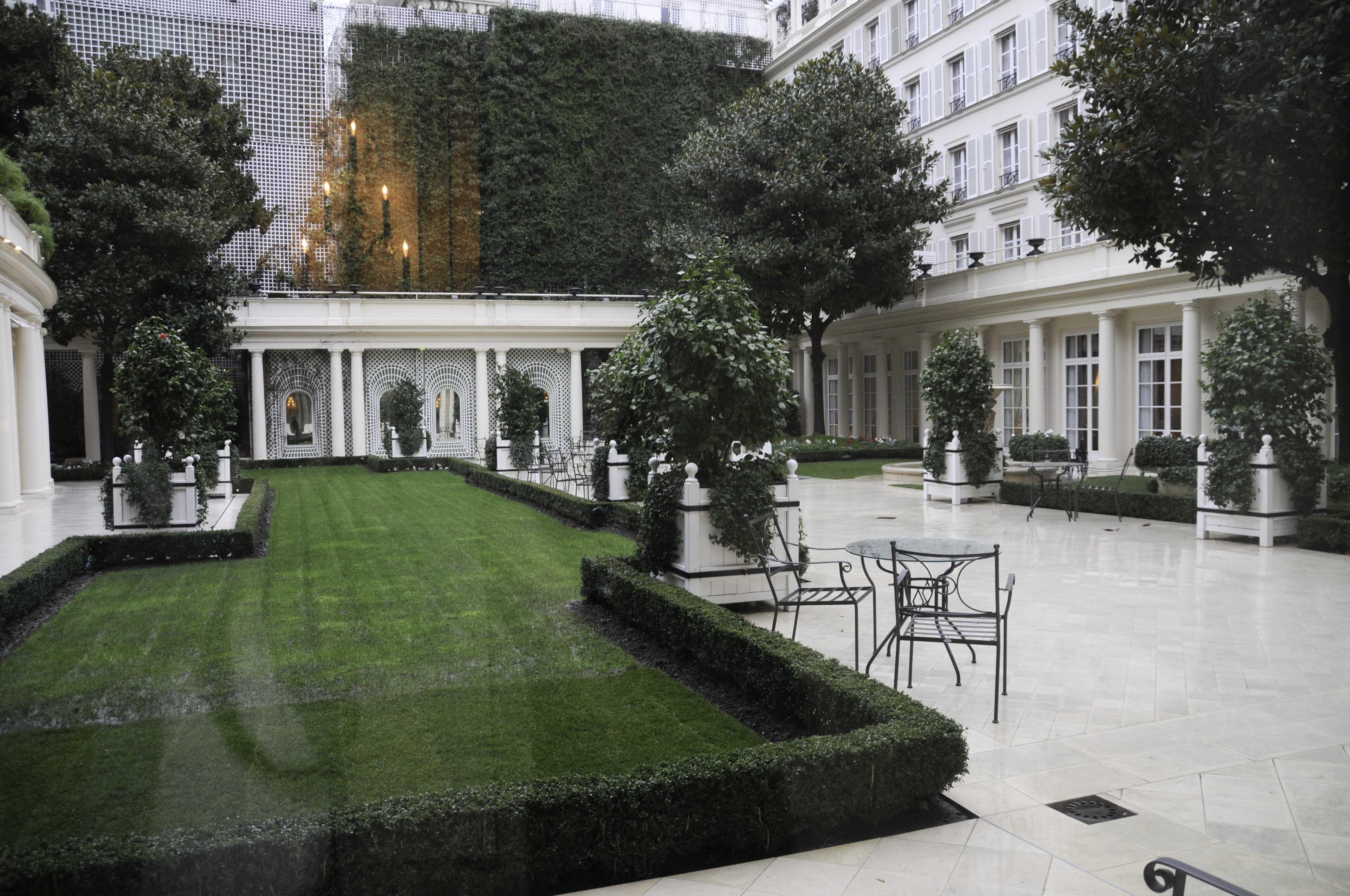 Jardins Le Bristol Paris