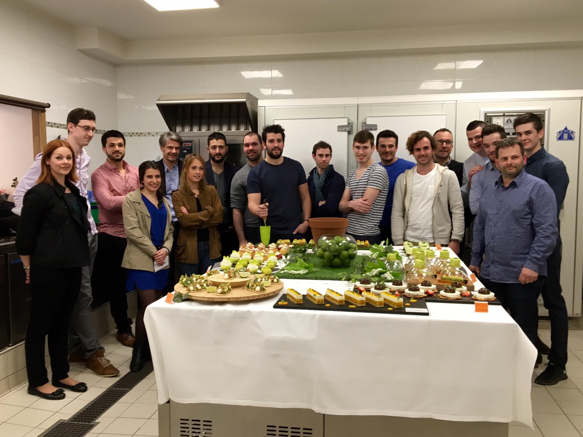 Les GluKoSés bordelais se retrouvent à la Pâtisserie Sweet Valentine