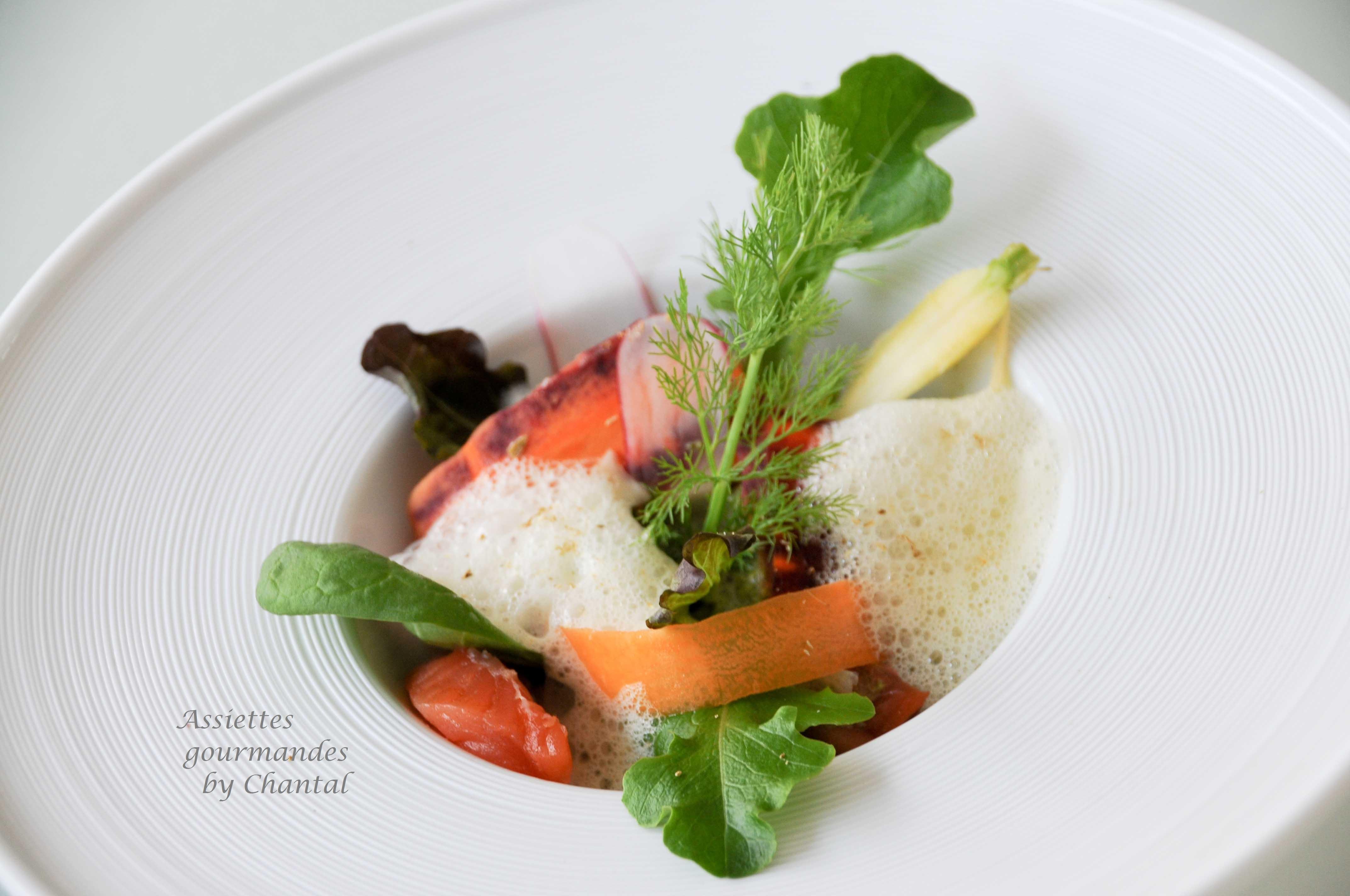 Salade de légumes croquants façon Kei Kobayashi