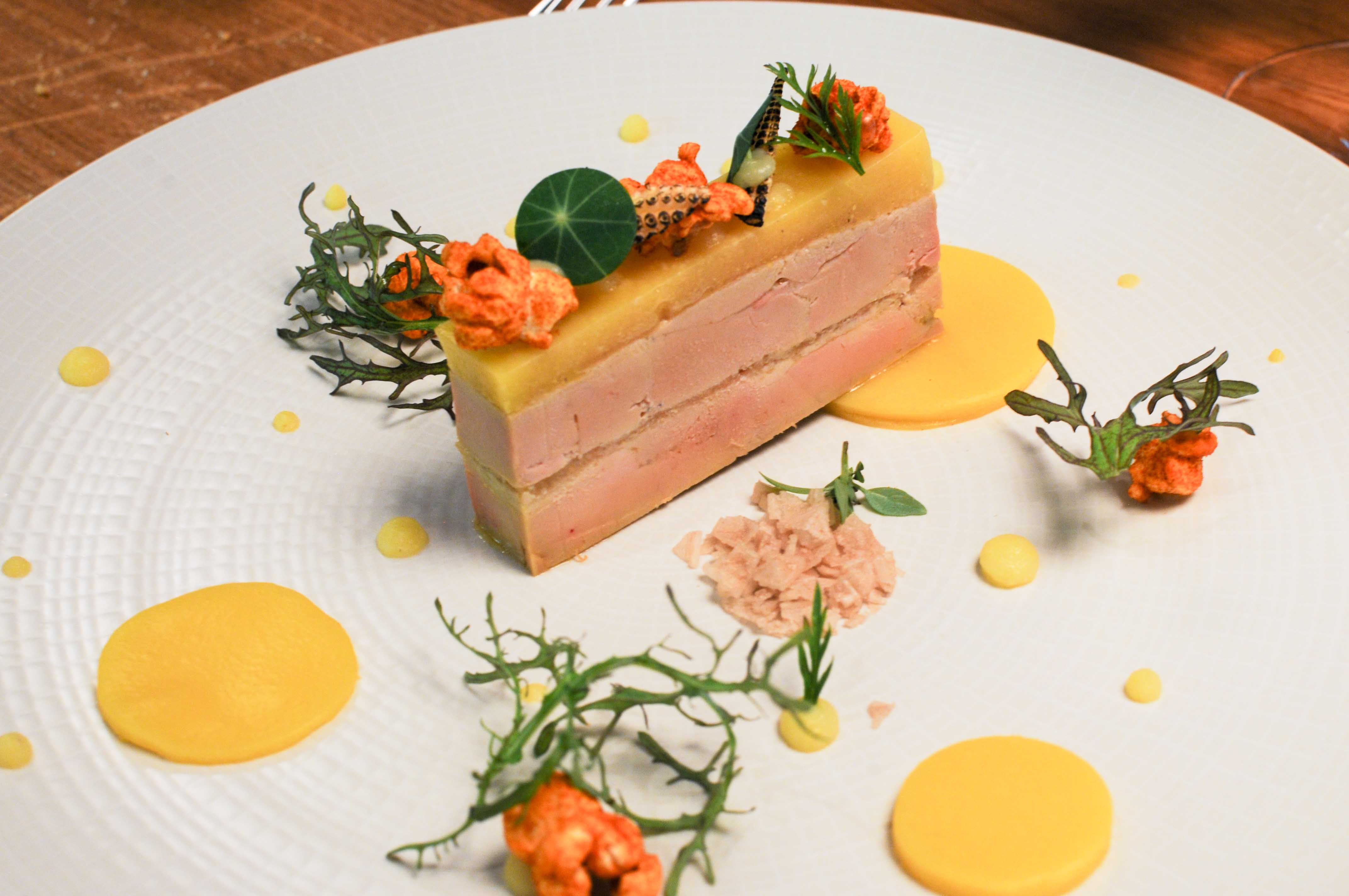 Dîner au restaurant du Domaine de Saint-Clair en Ardèche