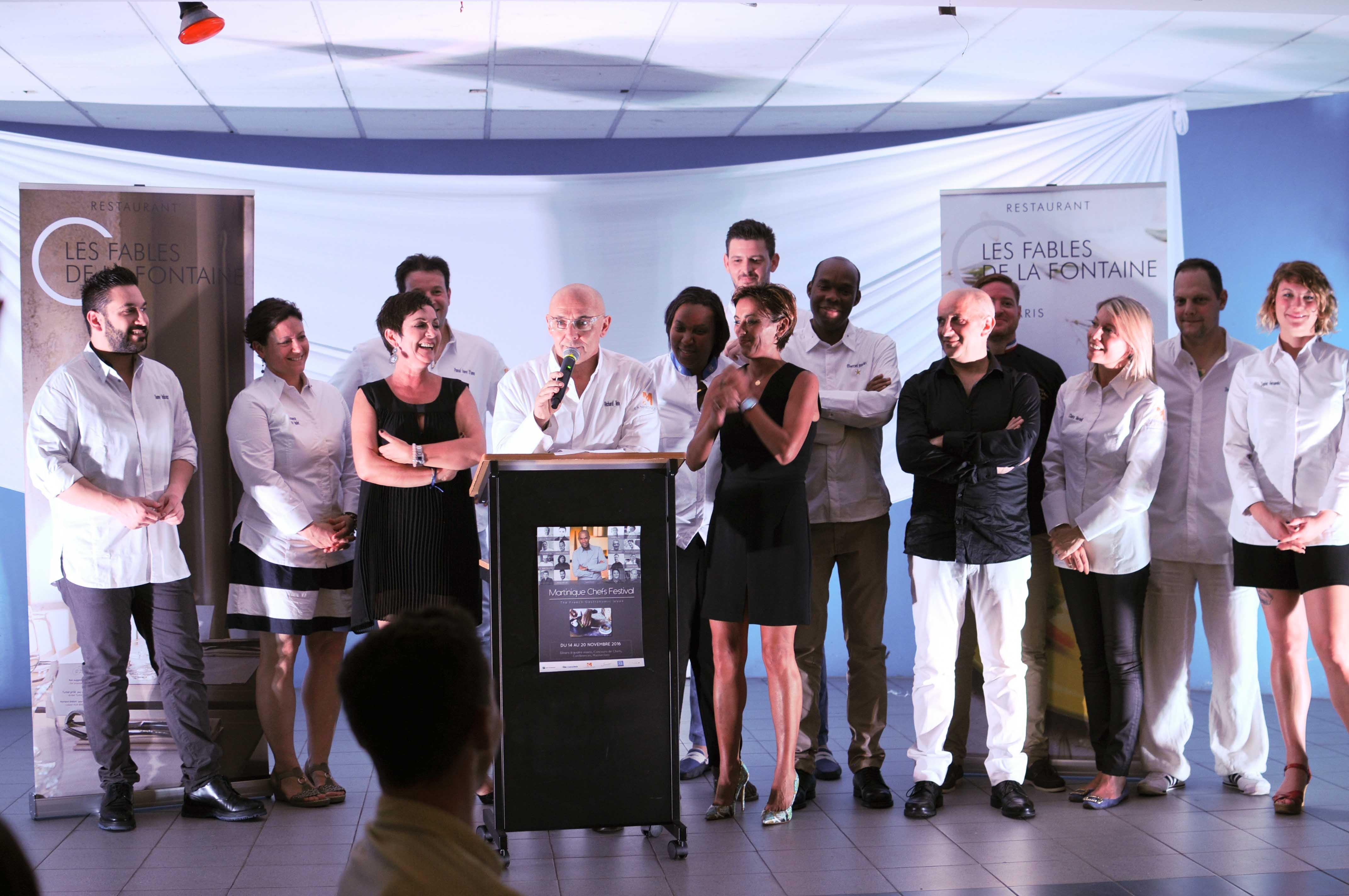 Dîners de Chefs lors du Martinique Chefs Festival
