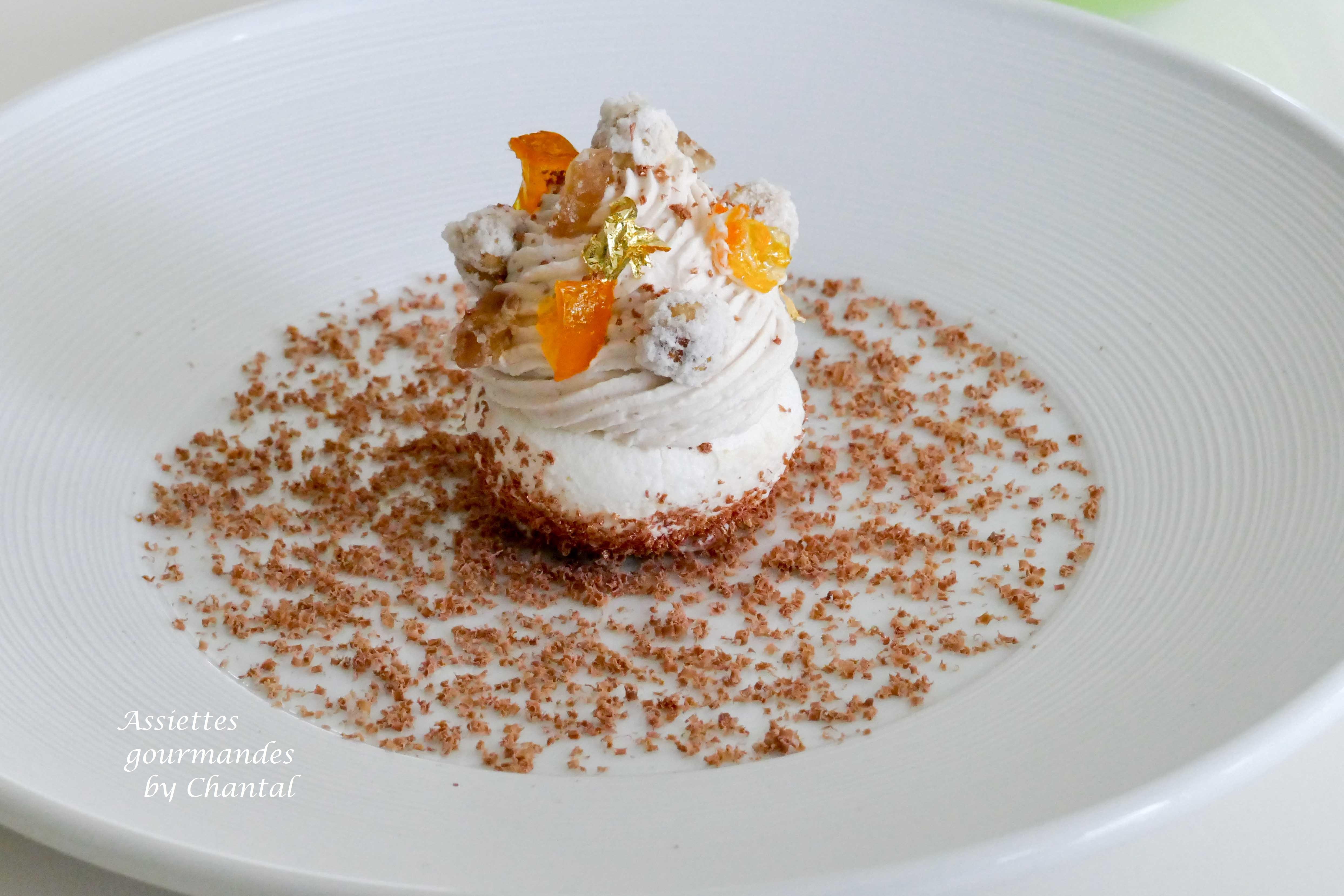 Mont-Blanc marron et mandarine - Stéphane Corolleur