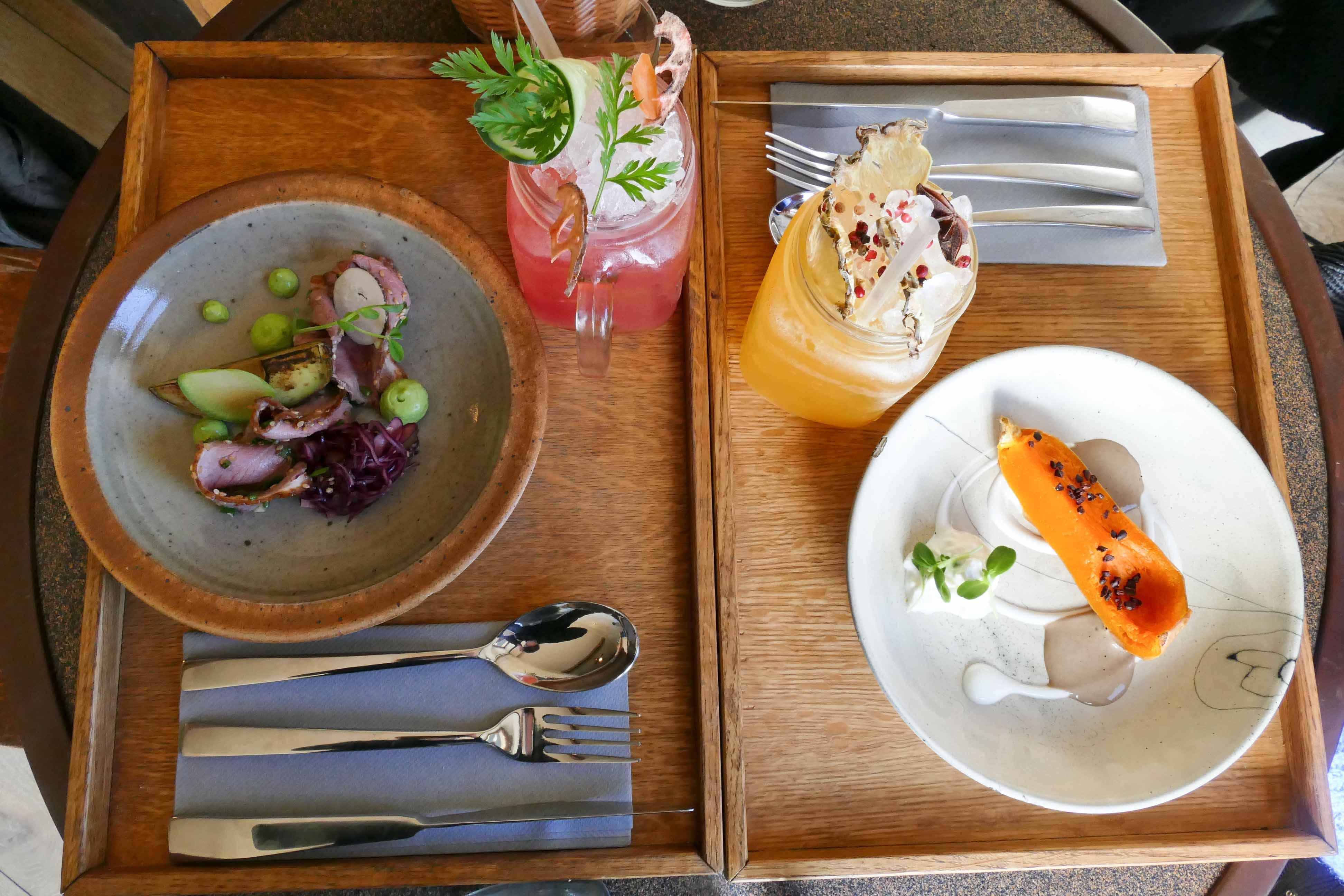 Déjeuner au restaurant Symbiose à Bordeaux