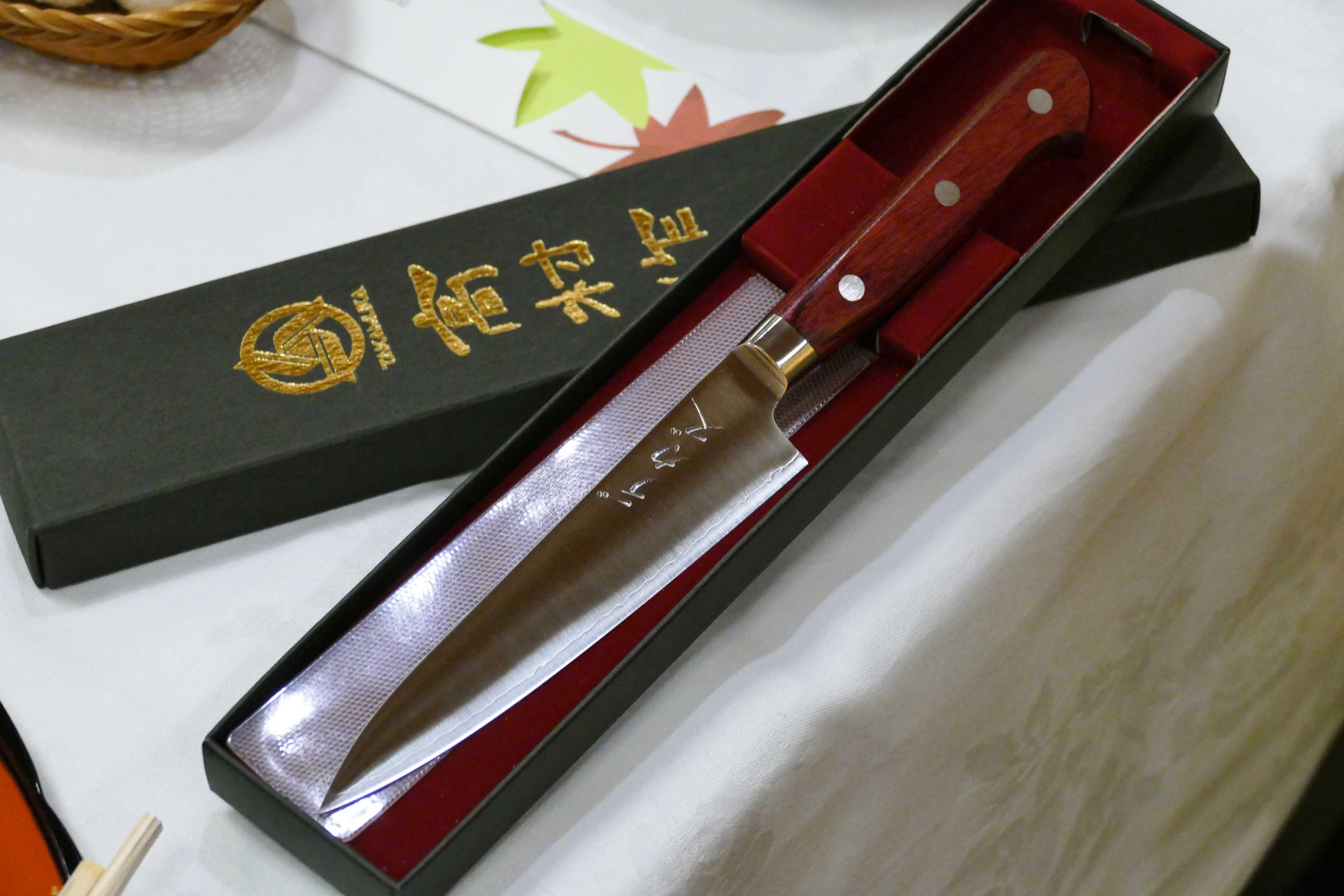 Couteaux japonais Takamura - Gault & Millau Tour Hokuriku [ Japon ] - Fukui